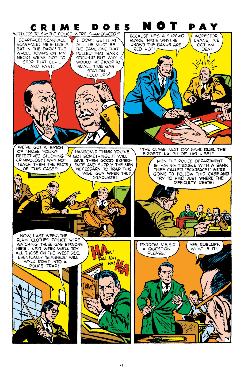 Read online Crime Does Not Pay Archives comic -  Issue # TPB 4 (Part 1) - 71