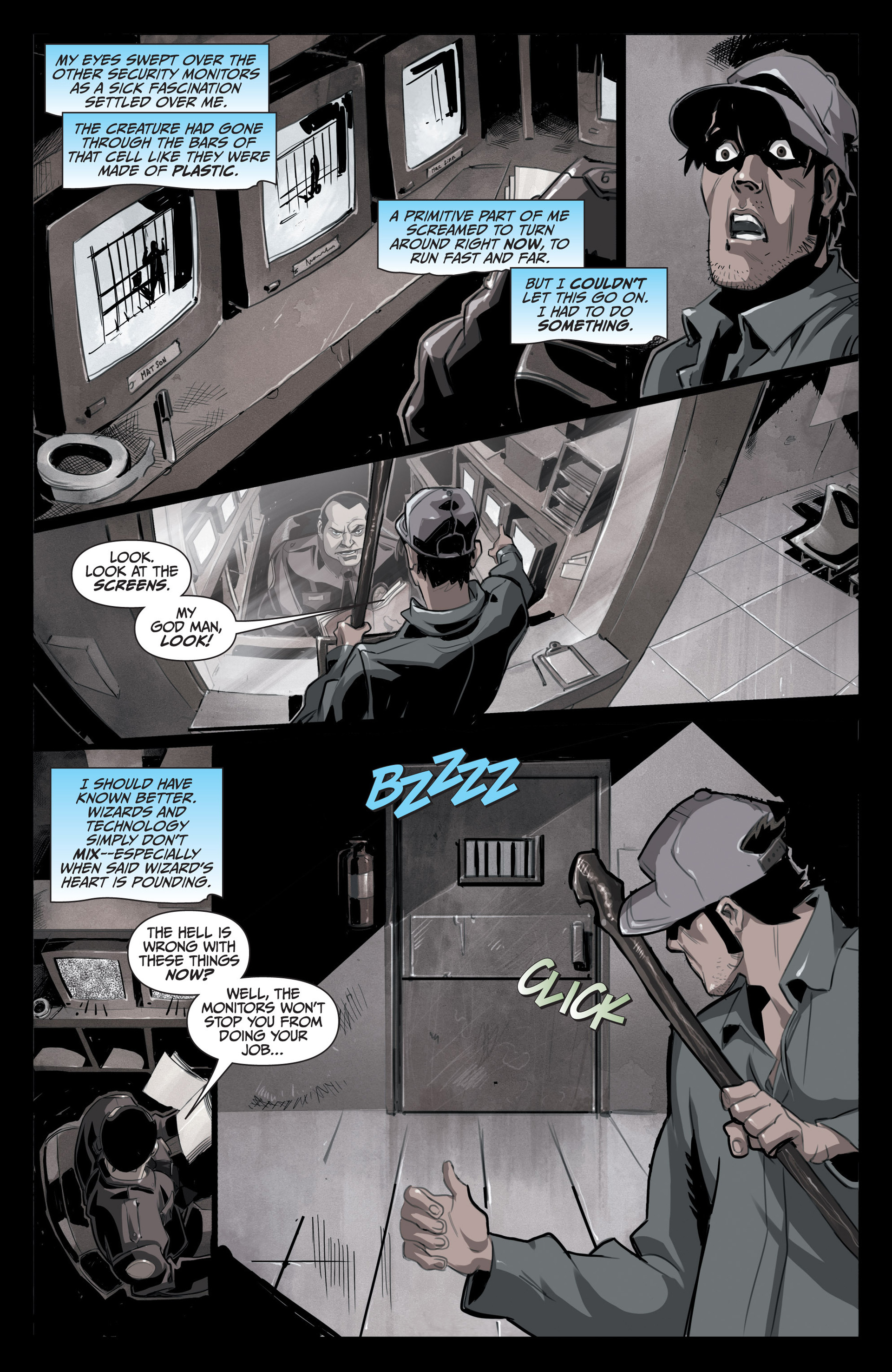 Read online Jim Butcher's The Dresden Files: Fool Moon comic -  Issue #5 - 9