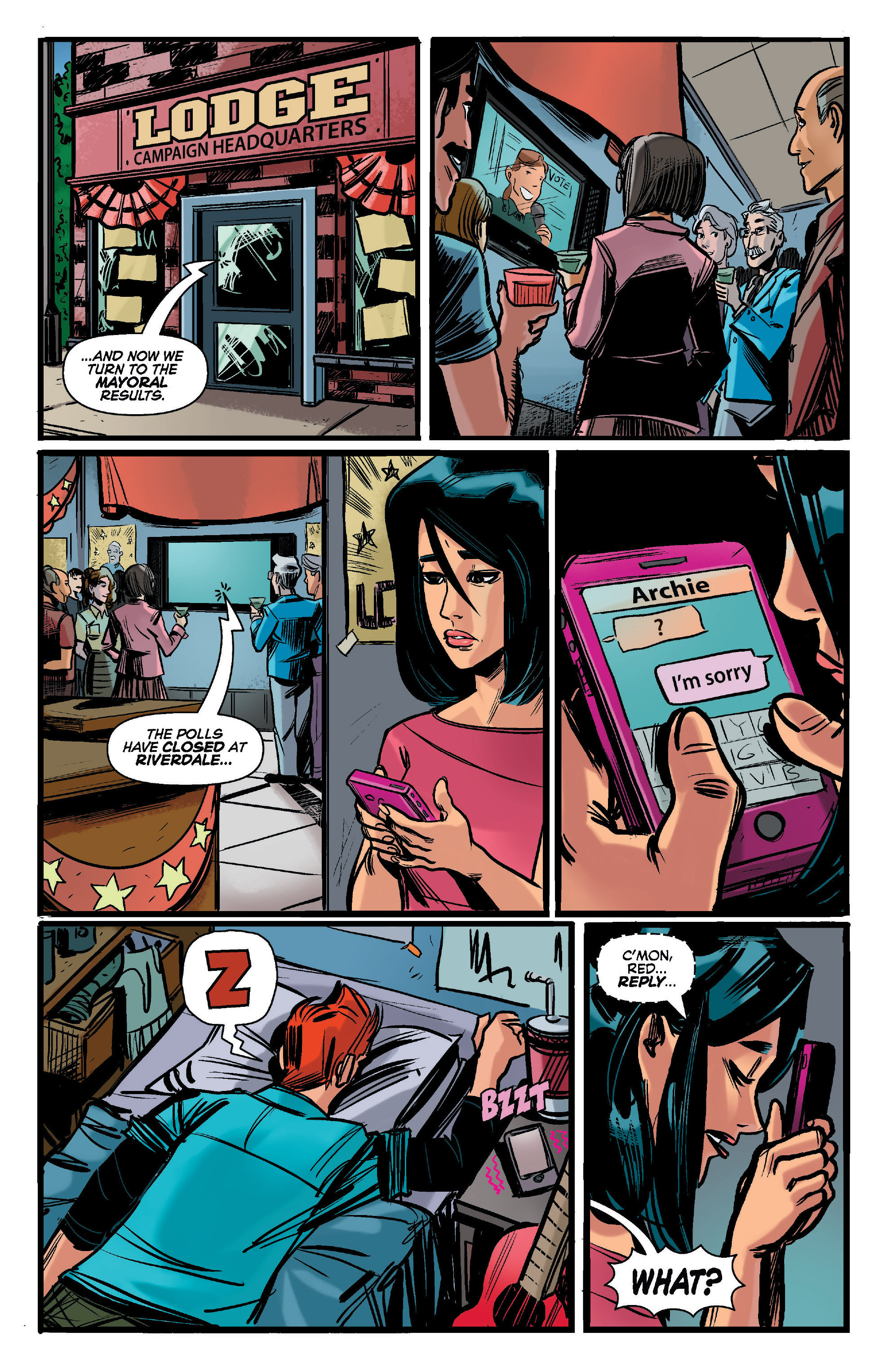 Read online Archie (2015) comic -  Issue #12 - 7