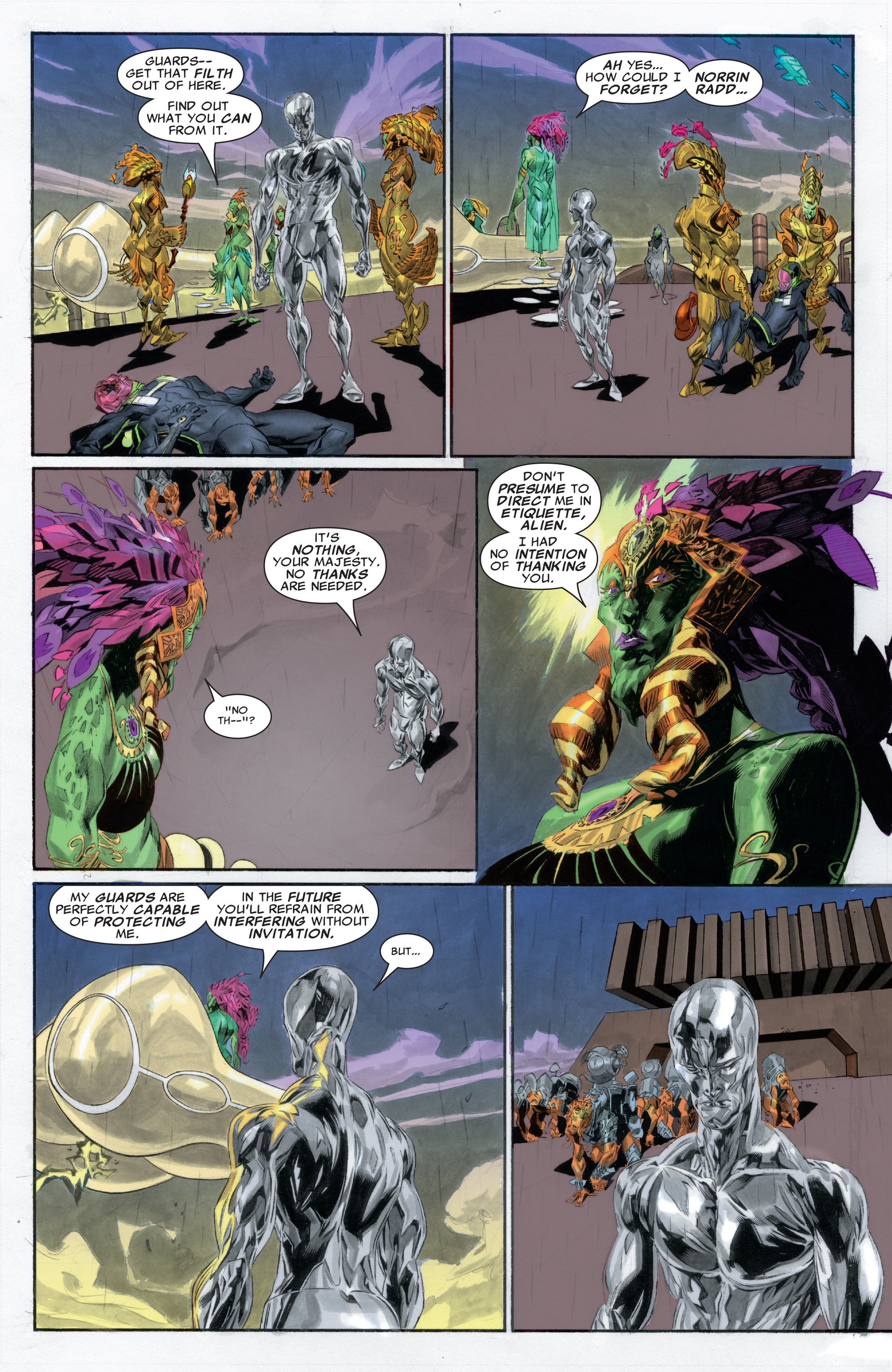 Read online Silver Surfer: In Thy Name comic -  Issue #2 - 11