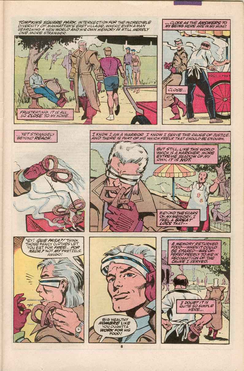 Read online Justice (1986) comic -  Issue #1 - 9