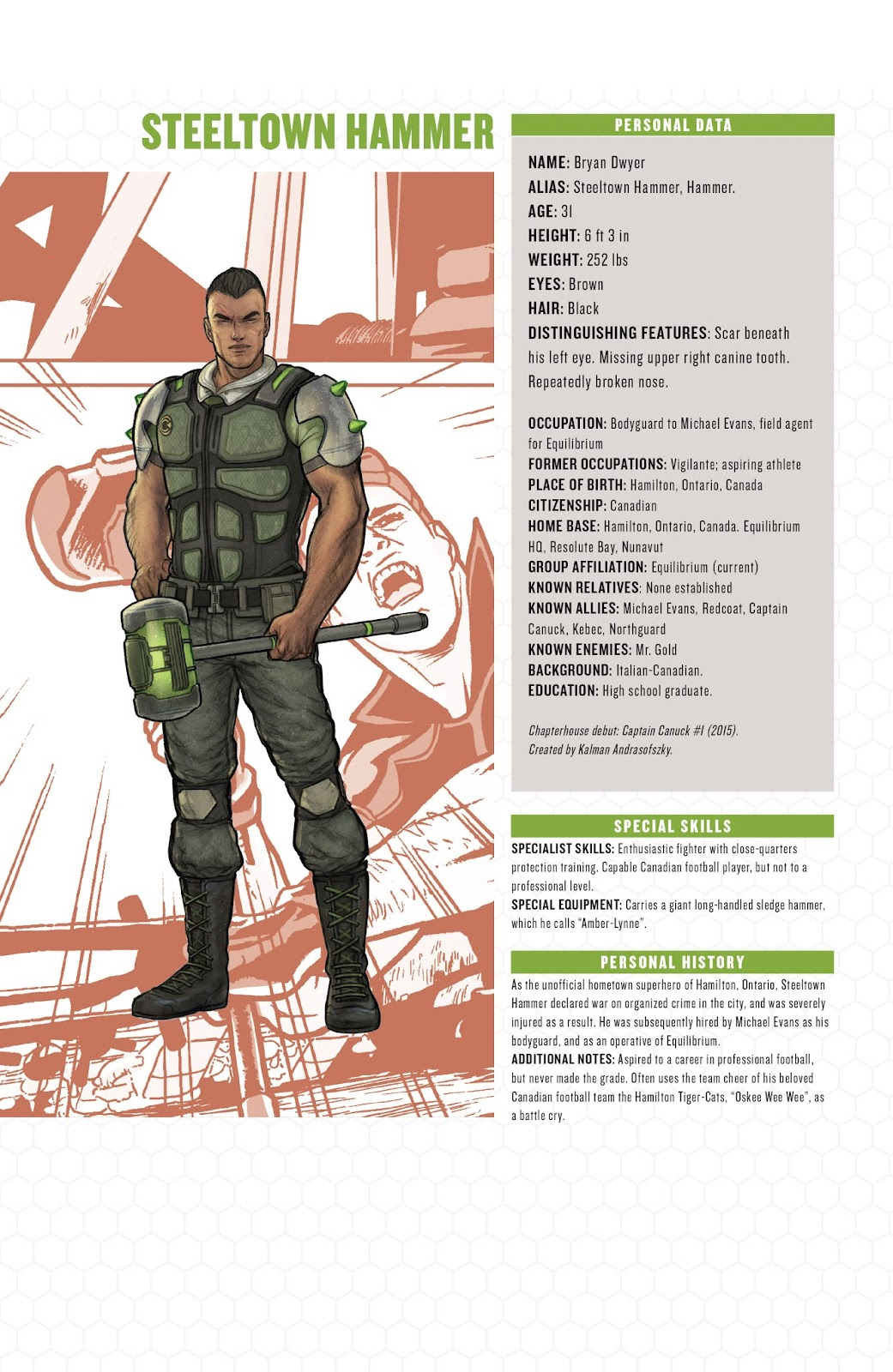 Captain Canuck: Invasion (Canada Day 2018) issue Full - Page 25