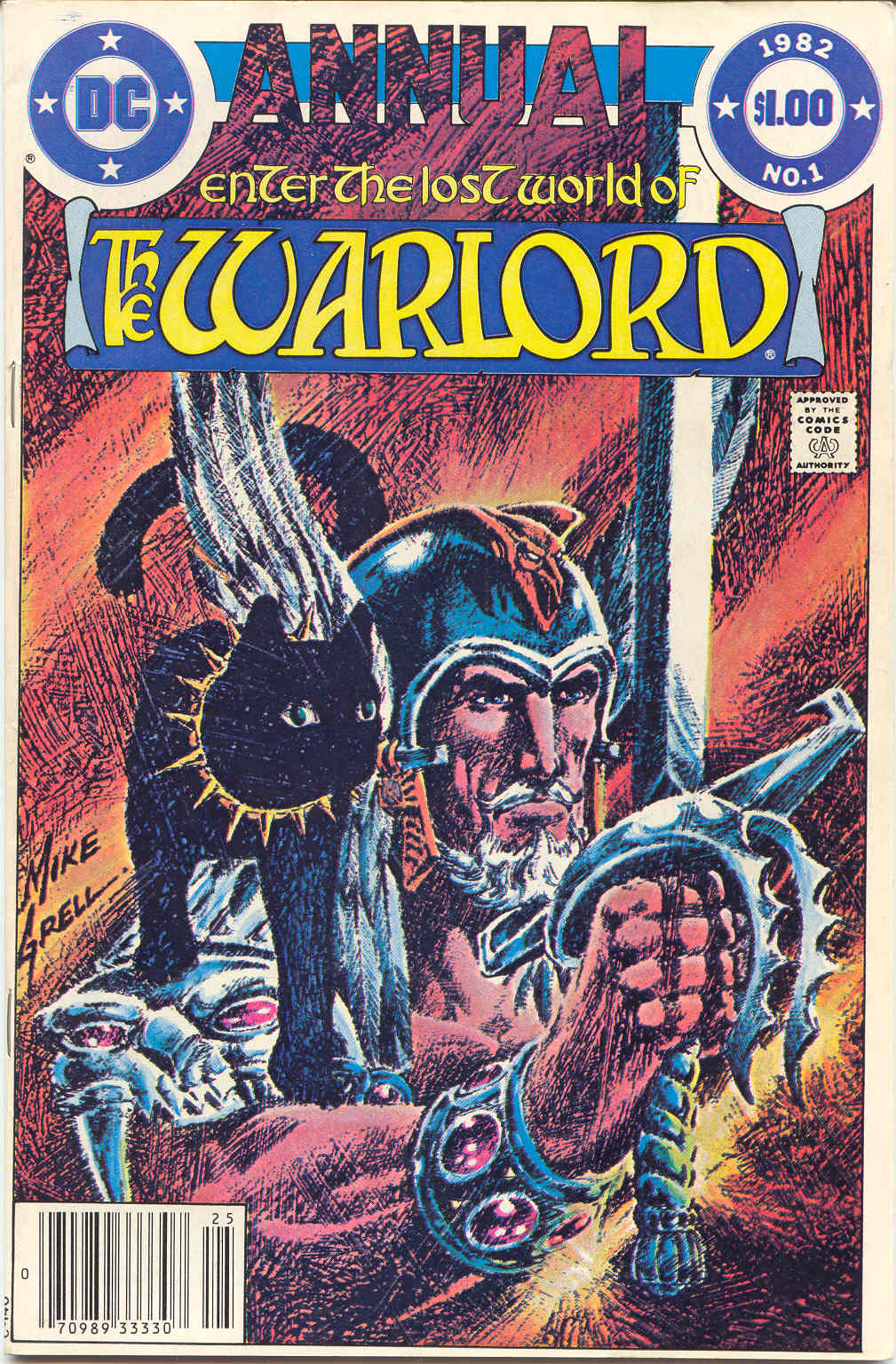 Warlord (1976) _Annual_6 Page 1