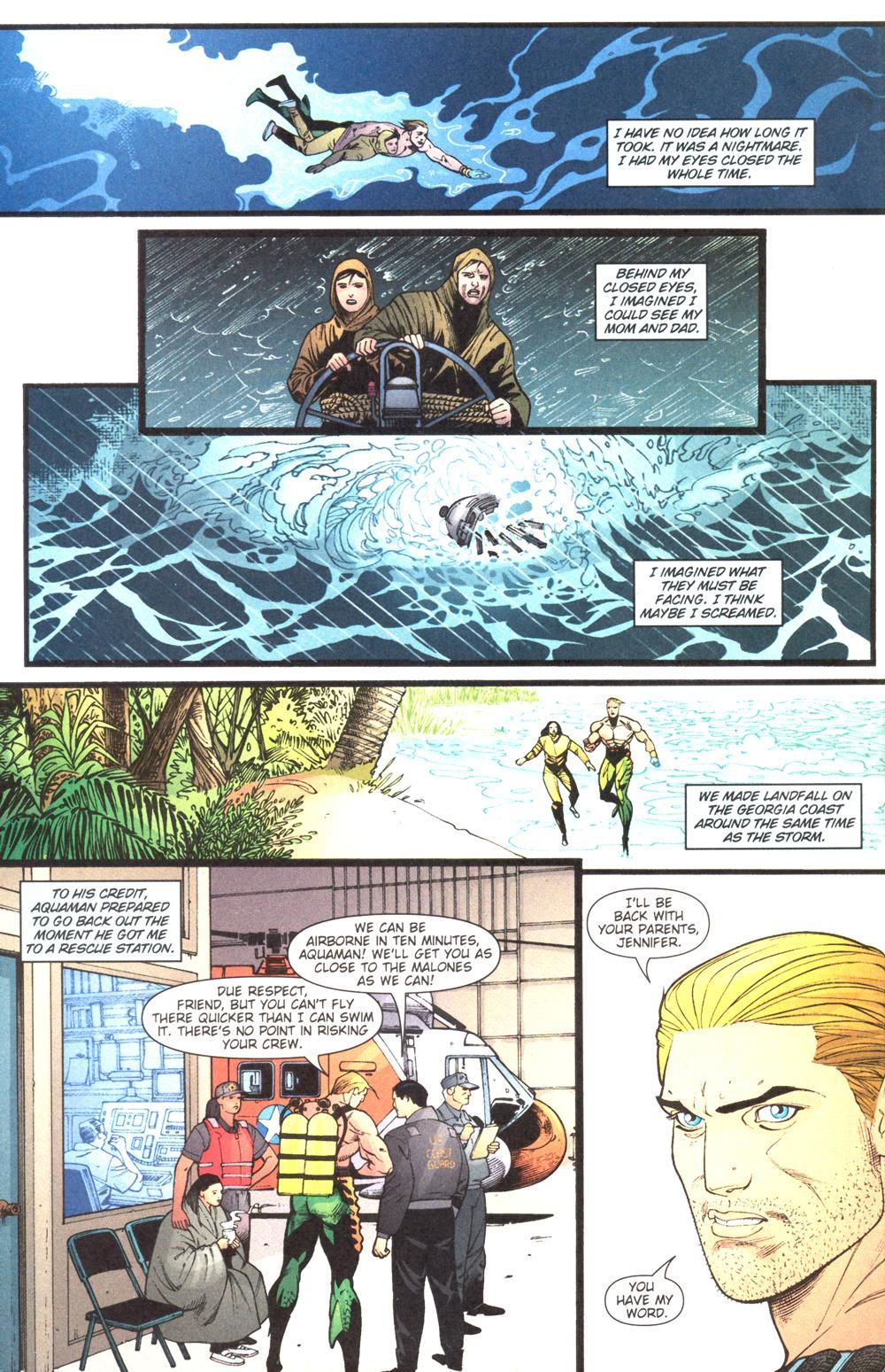 Read online Aquaman (2003) comic -  Issue #13 - 16