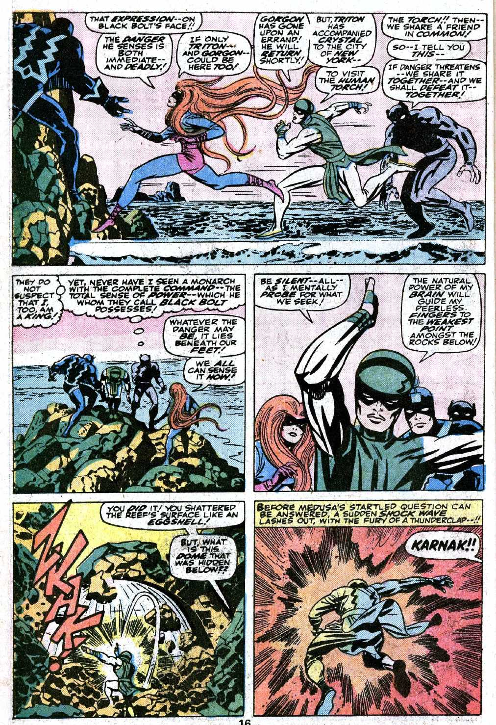 Giant-Size Fantastic Four issue 5 - Page 18
