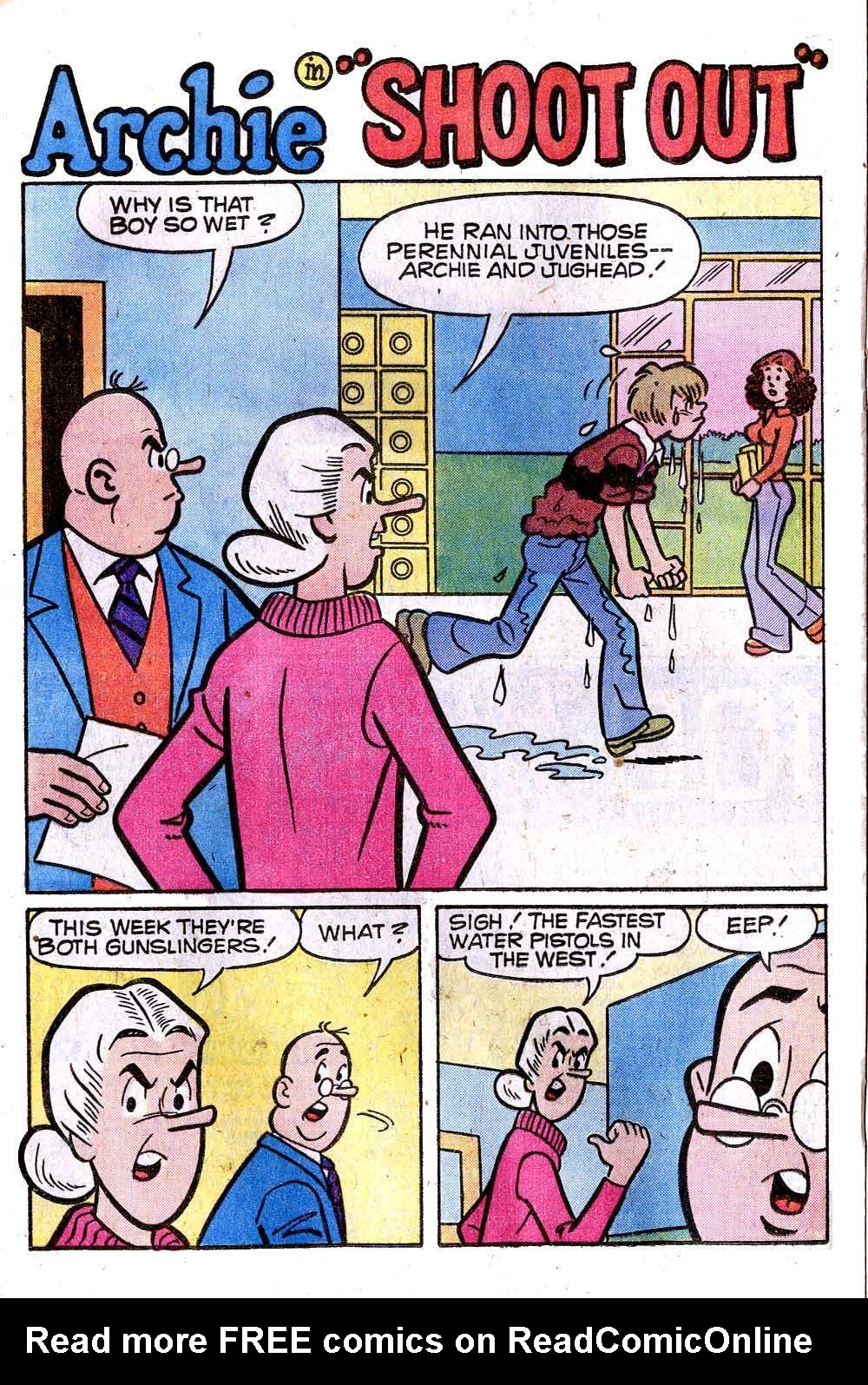 Read online Archie (1960) comic -  Issue #278 - 20