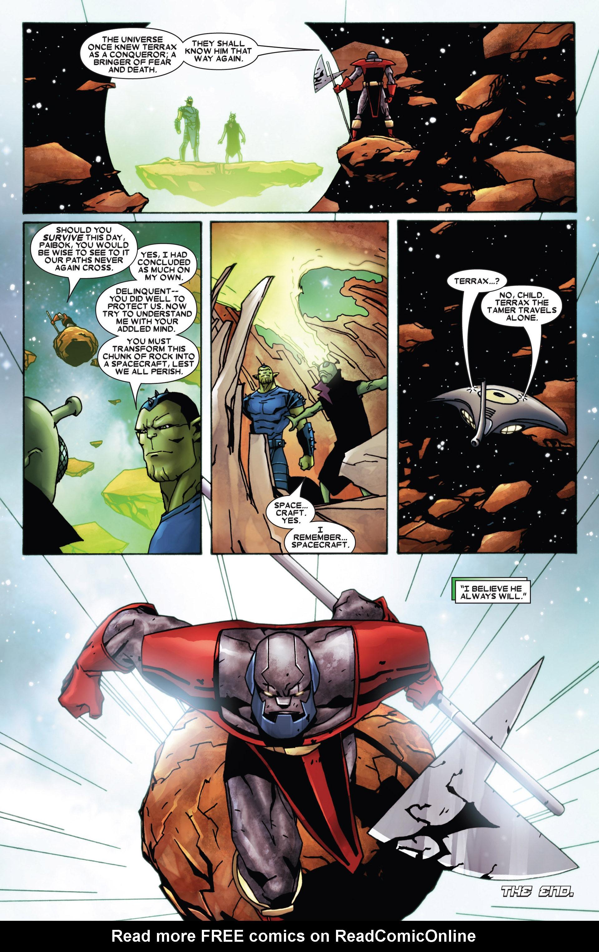 Read online Annihilation: Heralds Of Galactus comic -  Issue #1 - 23