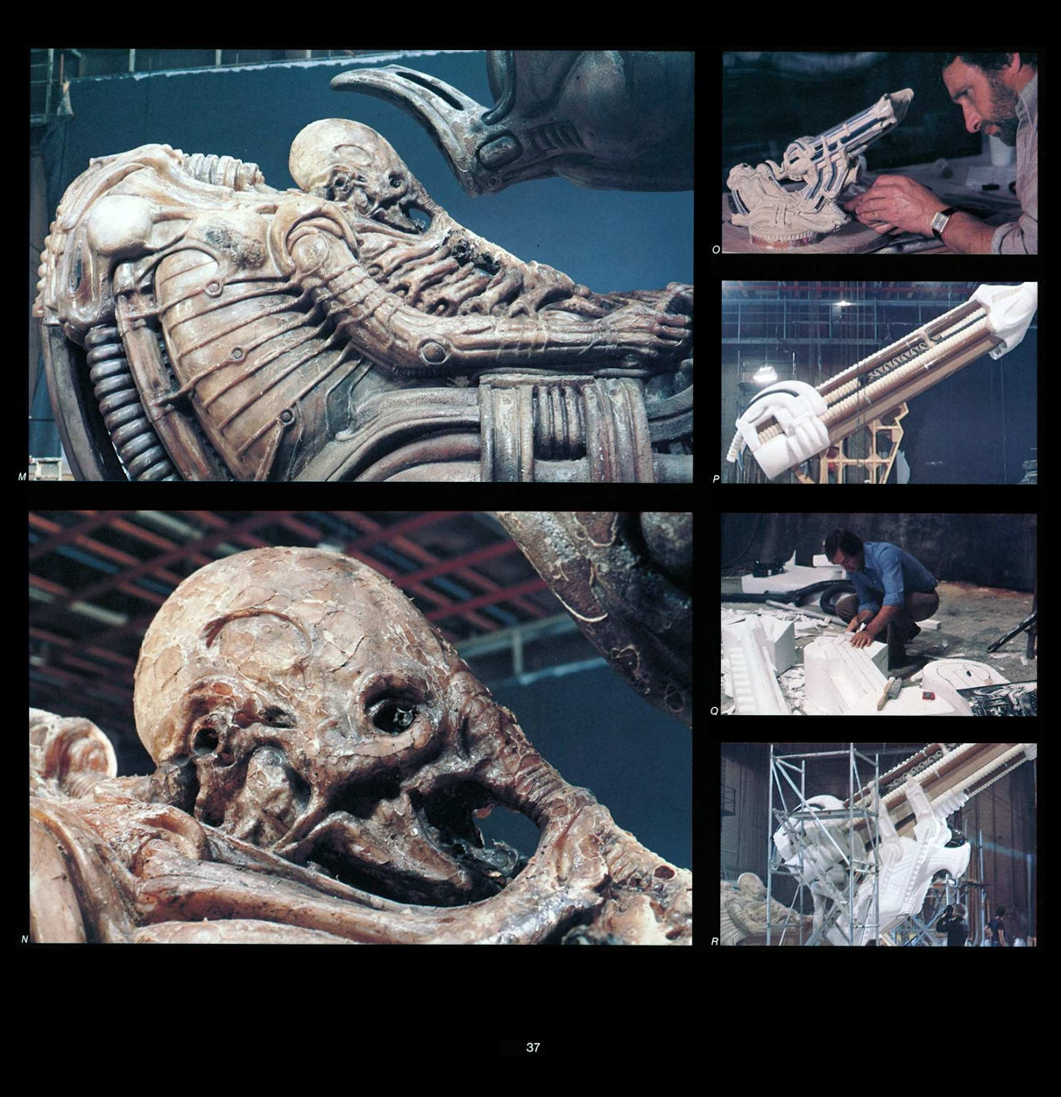 Read online Giger's Alien comic -  Issue # TPB - 39