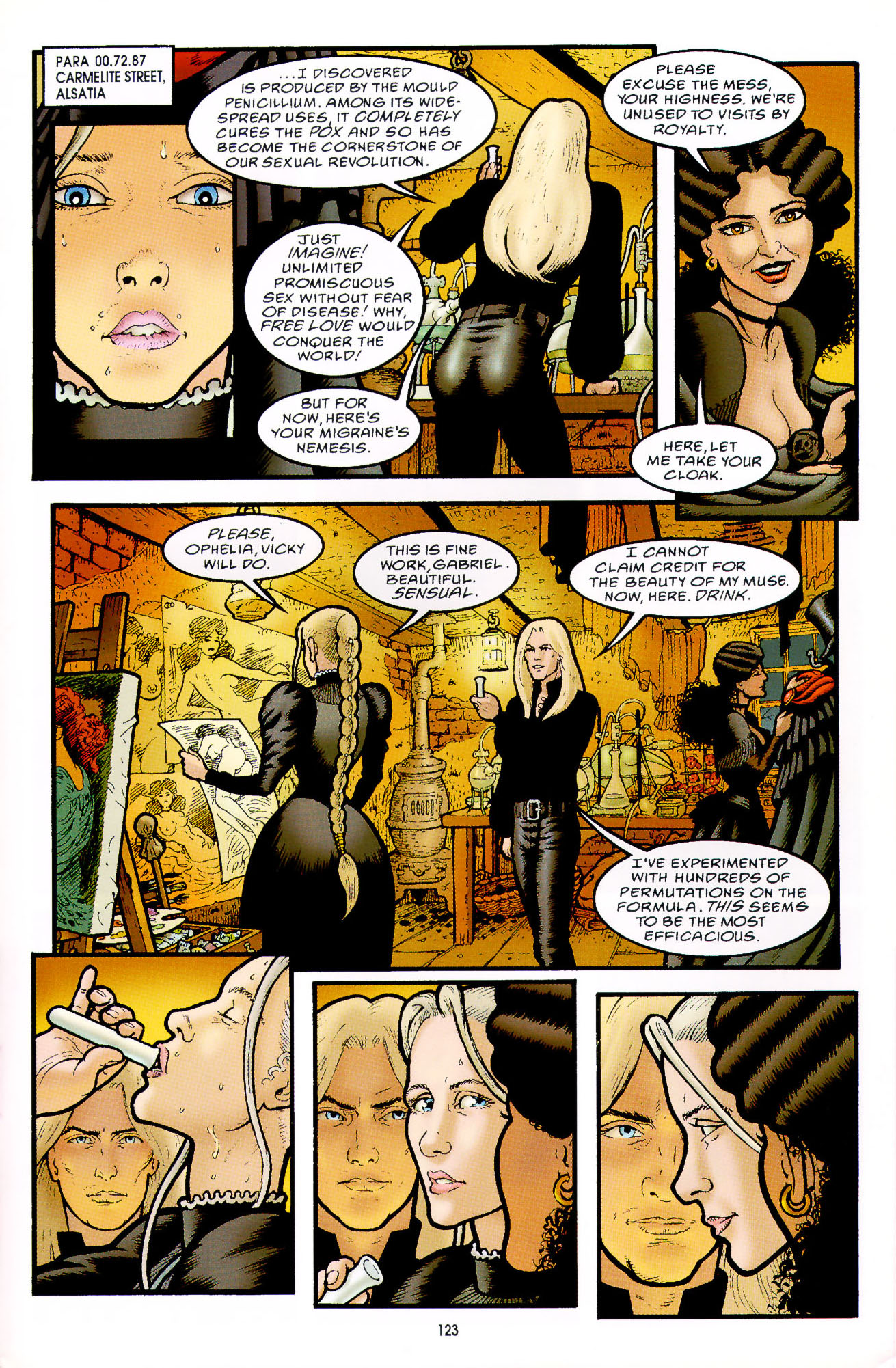 Read online Heart of Empire comic -  Issue #4 - 27