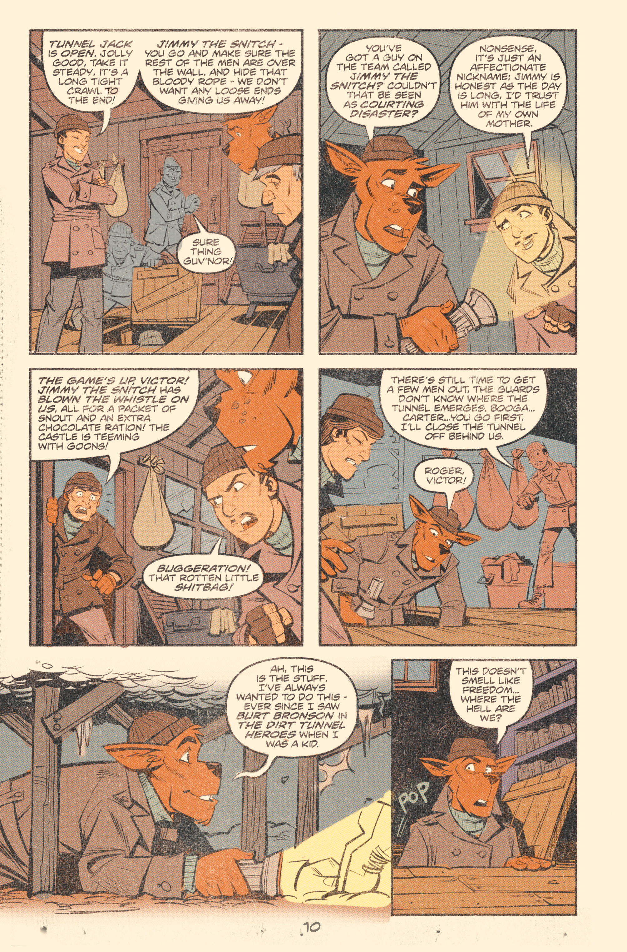 Read online Tank Girl: World War Tank Girl comic -  Issue #2 - 12