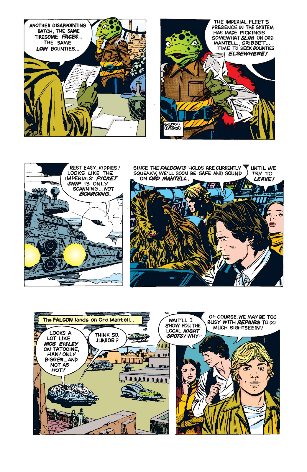 Read online Star Wars Legends: The Newspaper Strips - Epic Collection comic -  Issue # TPB (Part 4) - 95