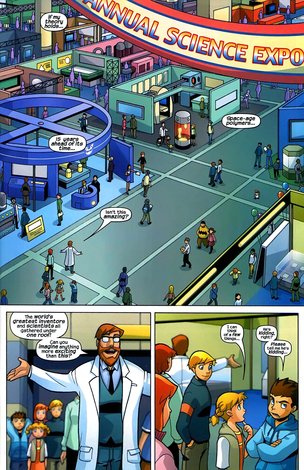 Read online X-Men and Power Pack comic -  Issue #2 - 2