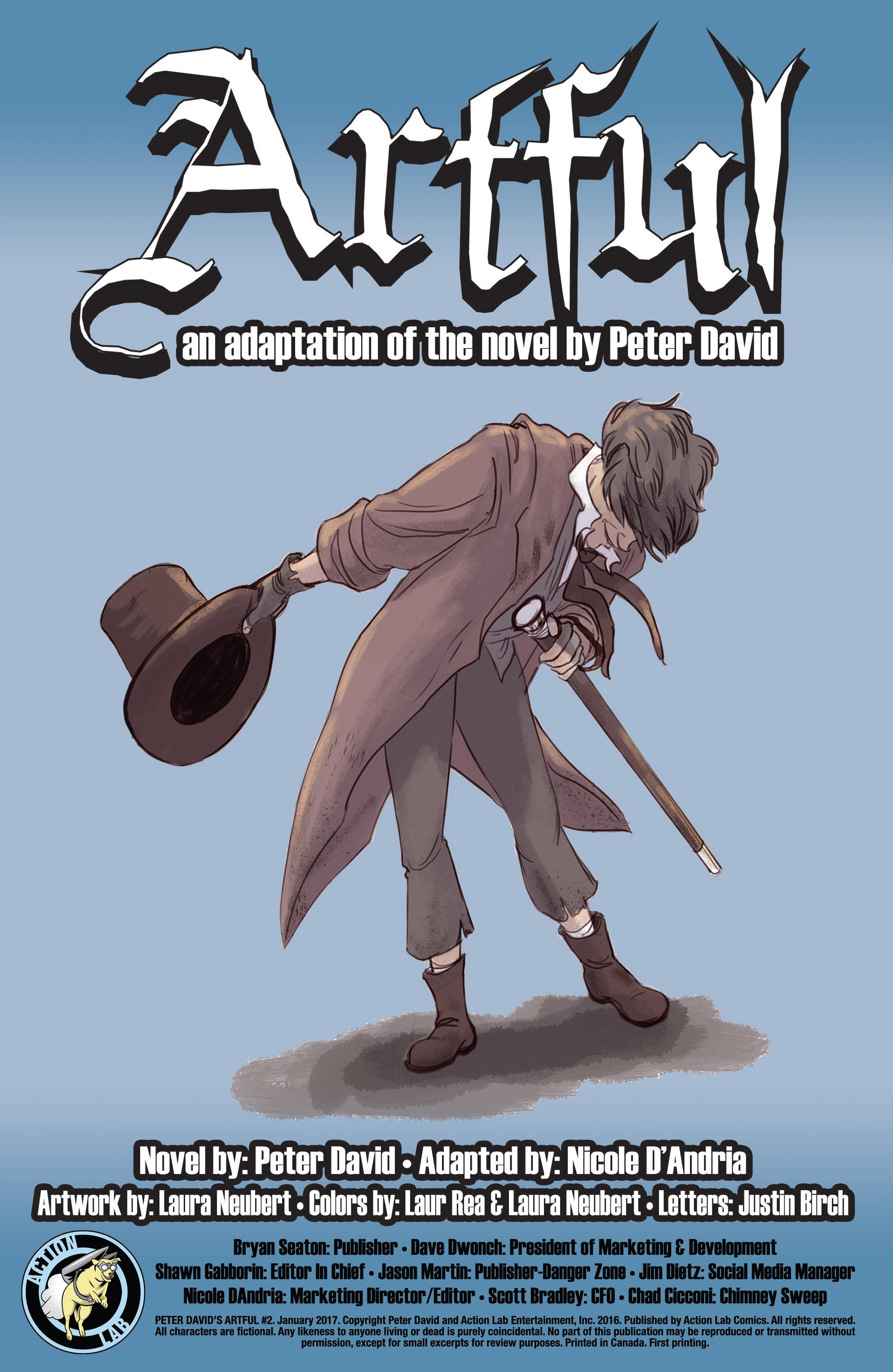 Read online Artful comic -  Issue #2 - 2