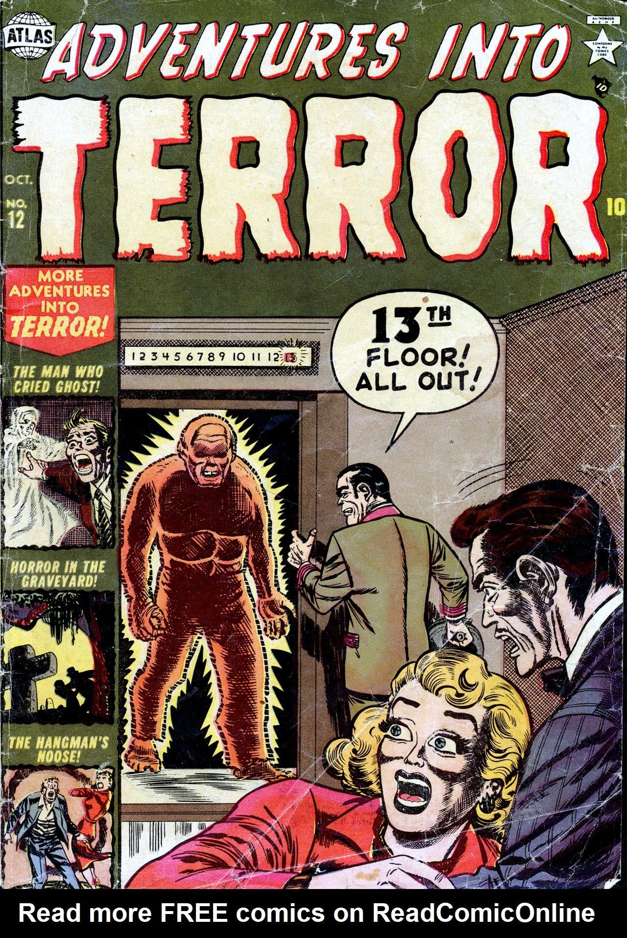 Adventures into Terror 12 Page 1