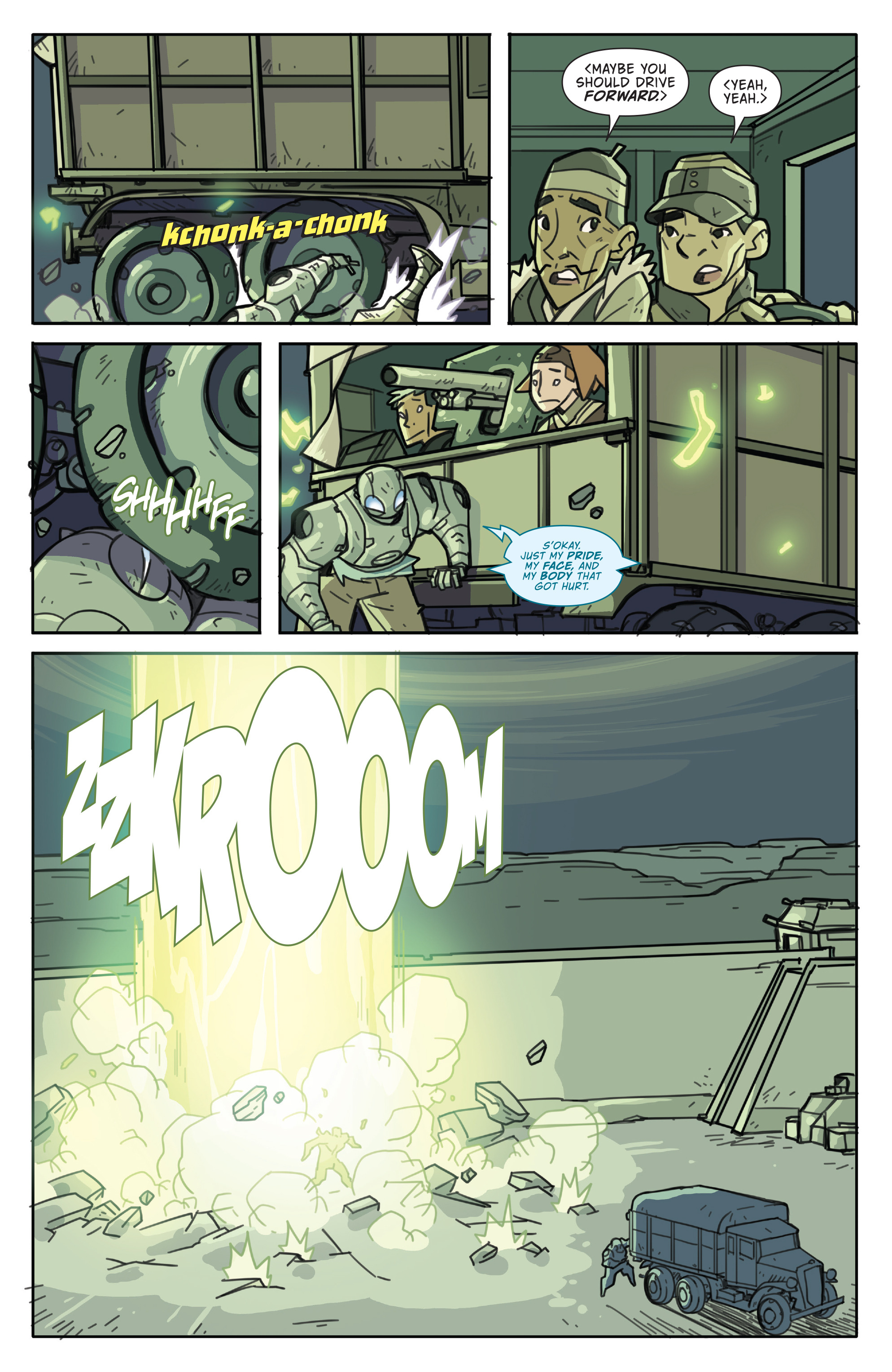 Read online Atomic Robo and the Temple of Od comic -  Issue #5 - 20