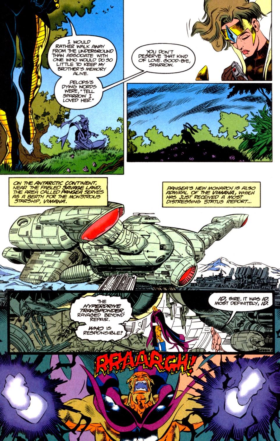 Read online Blackwulf comic -  Issue #6 - 11