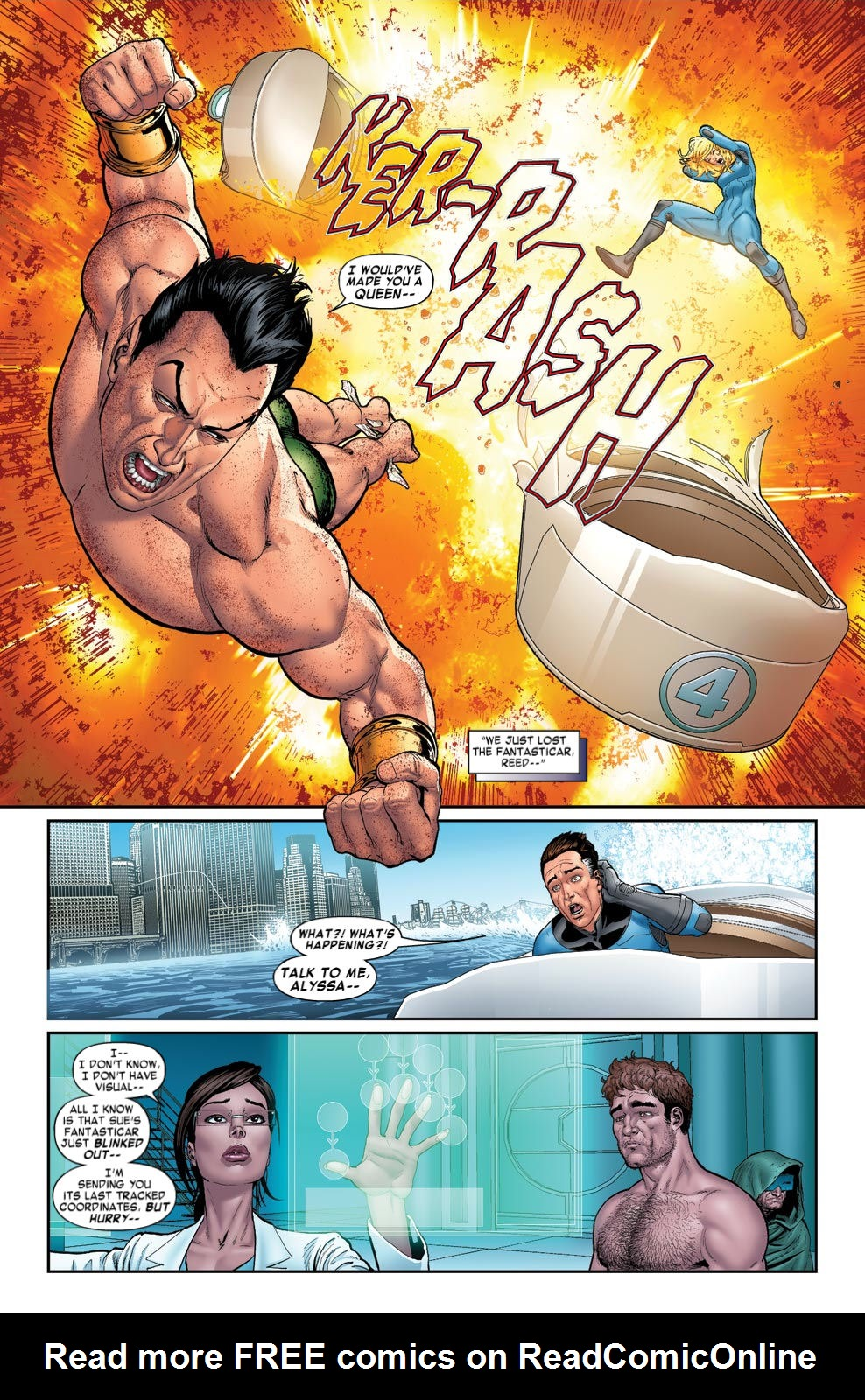 Read online Fantastic Four: Season One comic -  Issue # TPB - 91