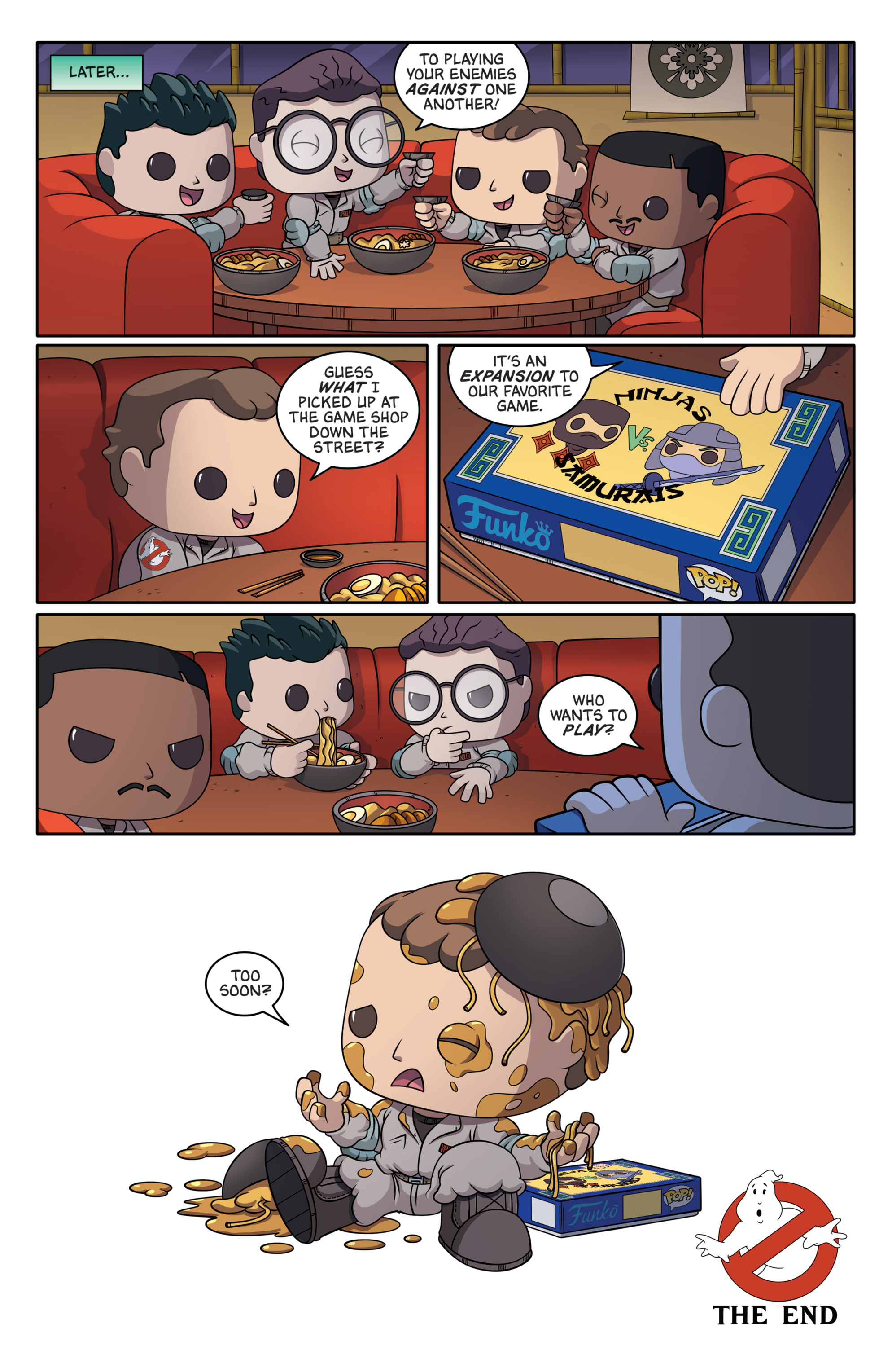 Read online Ghostbusters Funko Universe comic -  Issue # Full - 26