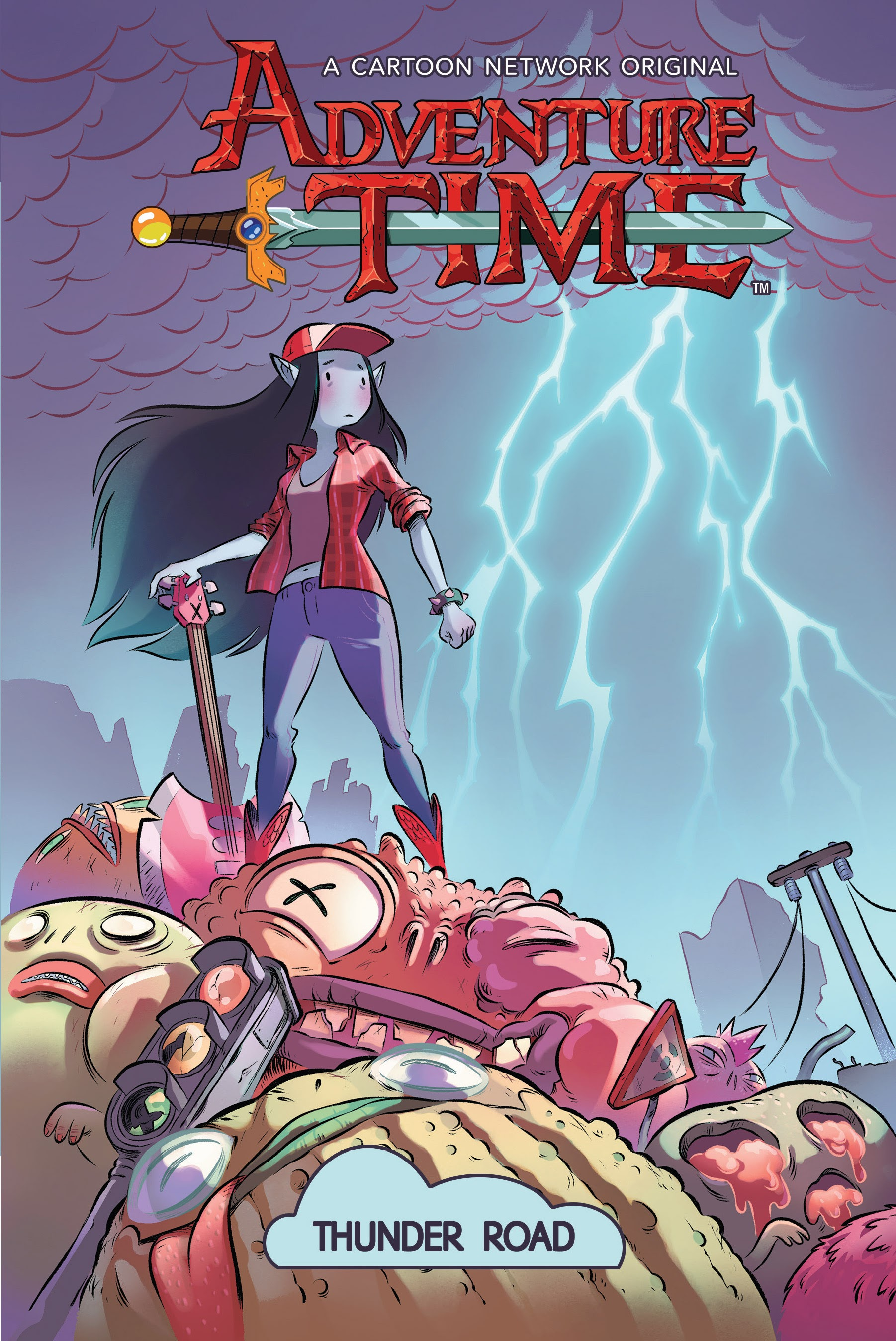Adventure Time: Thunder Road TPB Page 1