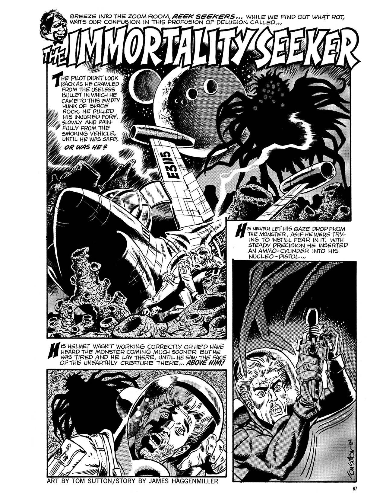 Read online Eerie Archives comic -  Issue # TPB 5 - 68