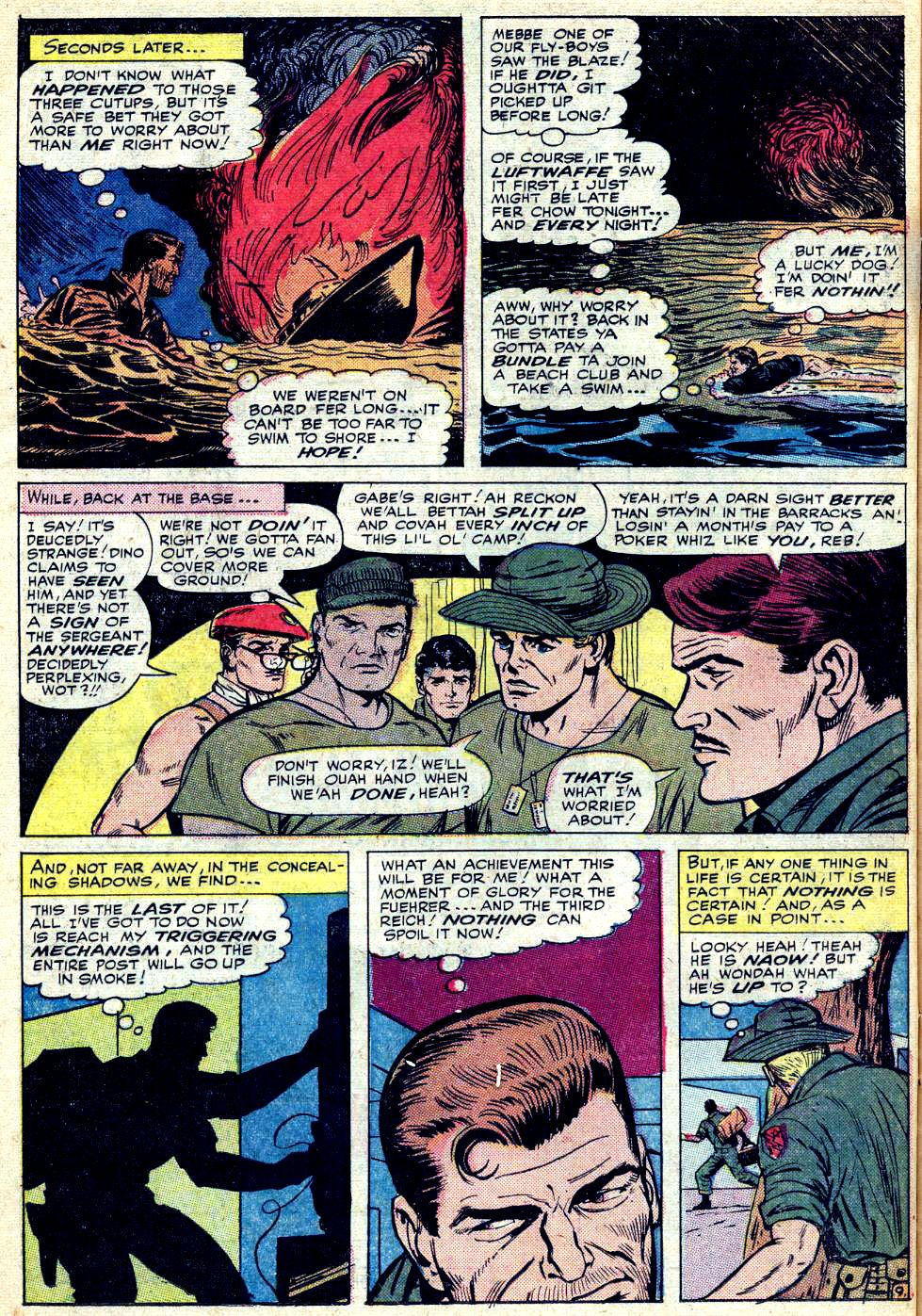 Read online Sgt. Fury comic -  Issue #25 - 14