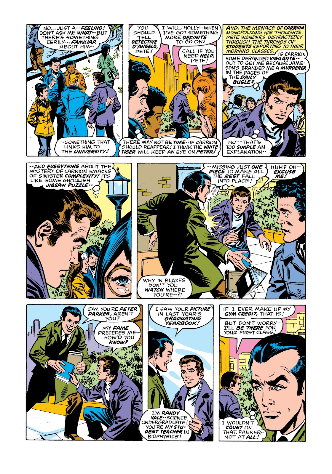 Read online Marvel Masterworks: The Spectacular Spider-Man comic -  Issue # TPB 2 (Part 3) - 53