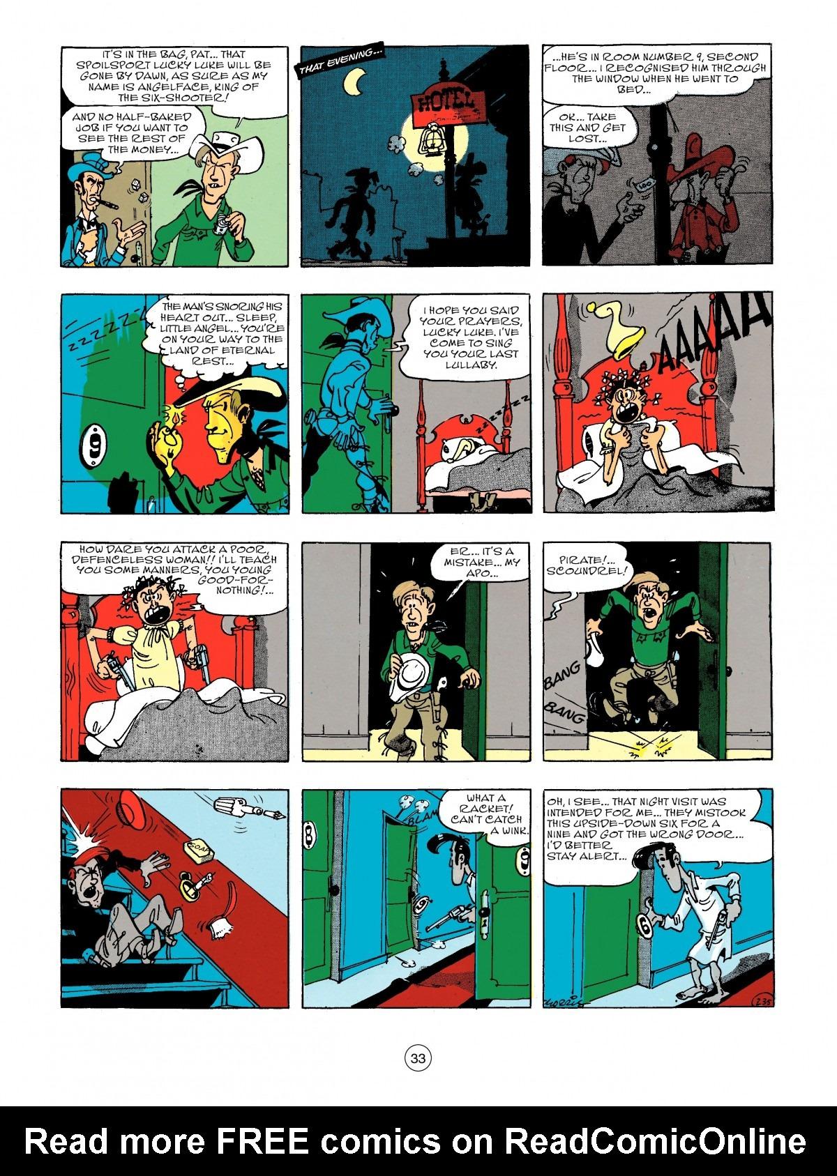 Read online A Lucky Luke Adventure comic -  Issue #44 - 33