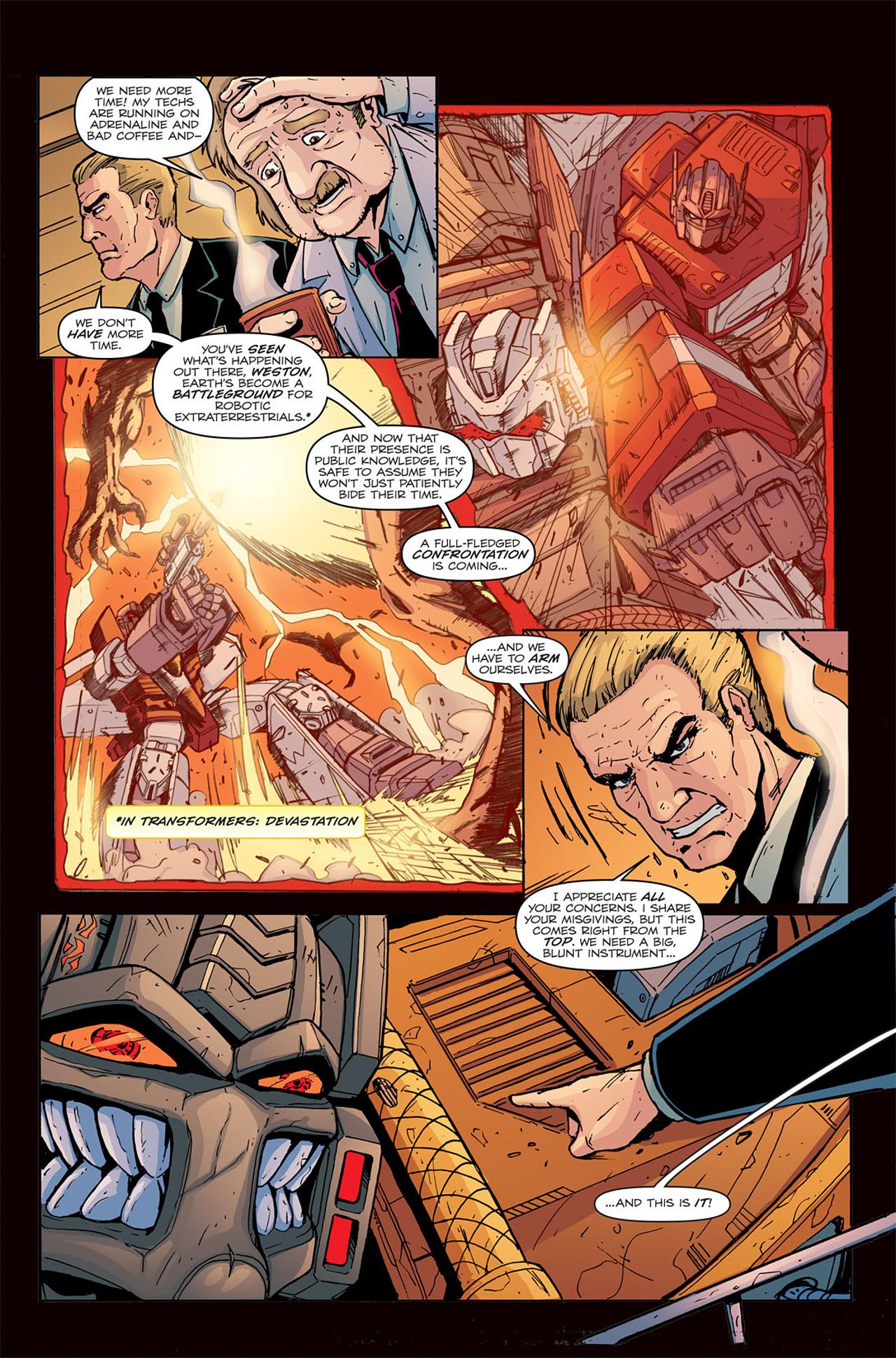 Read online Transformers Spotlight: Grimlock comic -  Issue # Full - 6