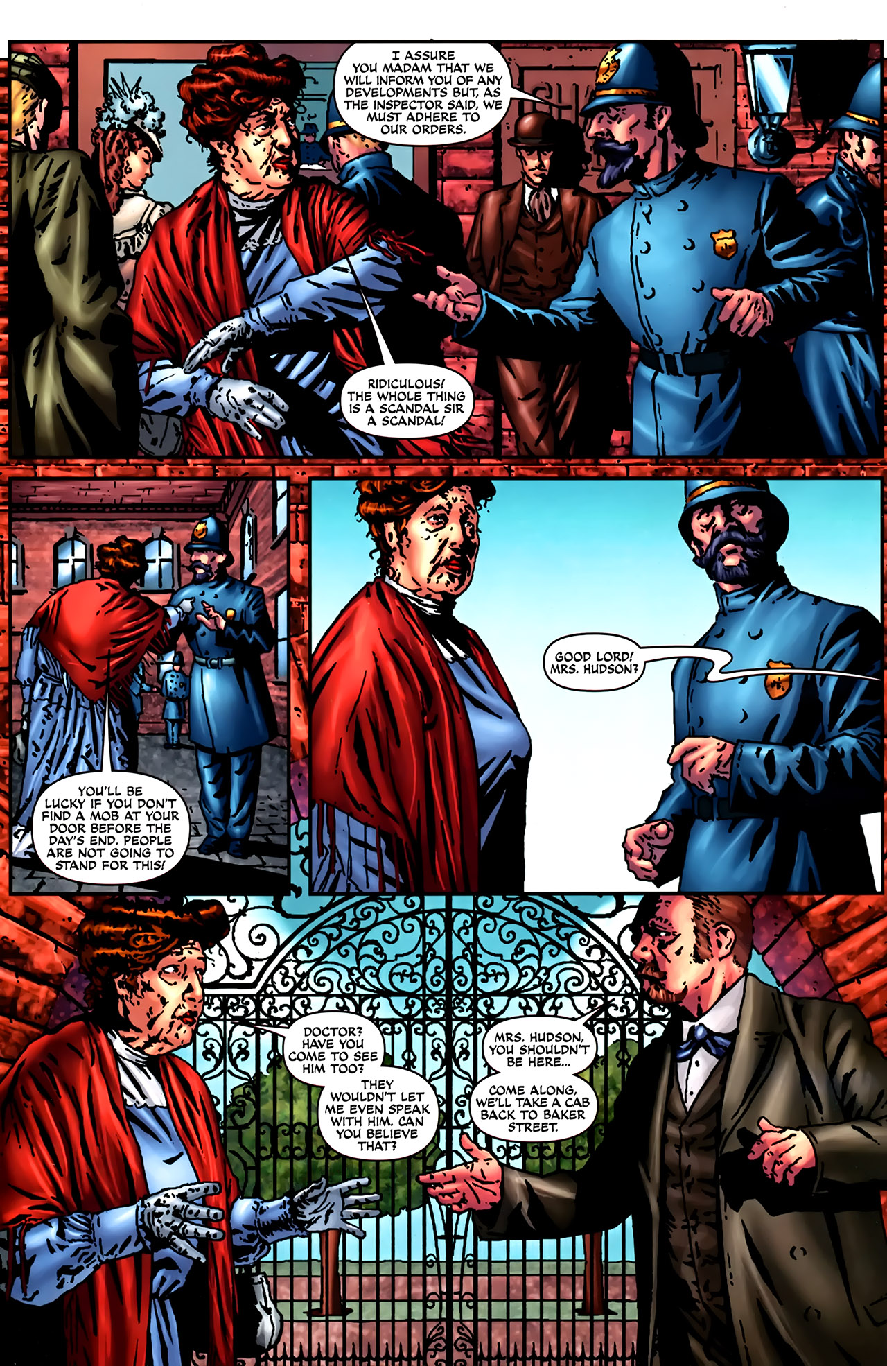 Read online Sherlock Holmes (2009) comic -  Issue #2 - 8