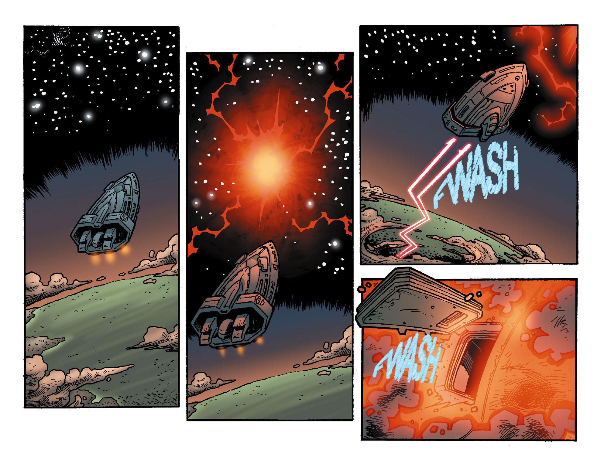 Read online Smallville: Chaos [II] comic -  Issue #8 - 17