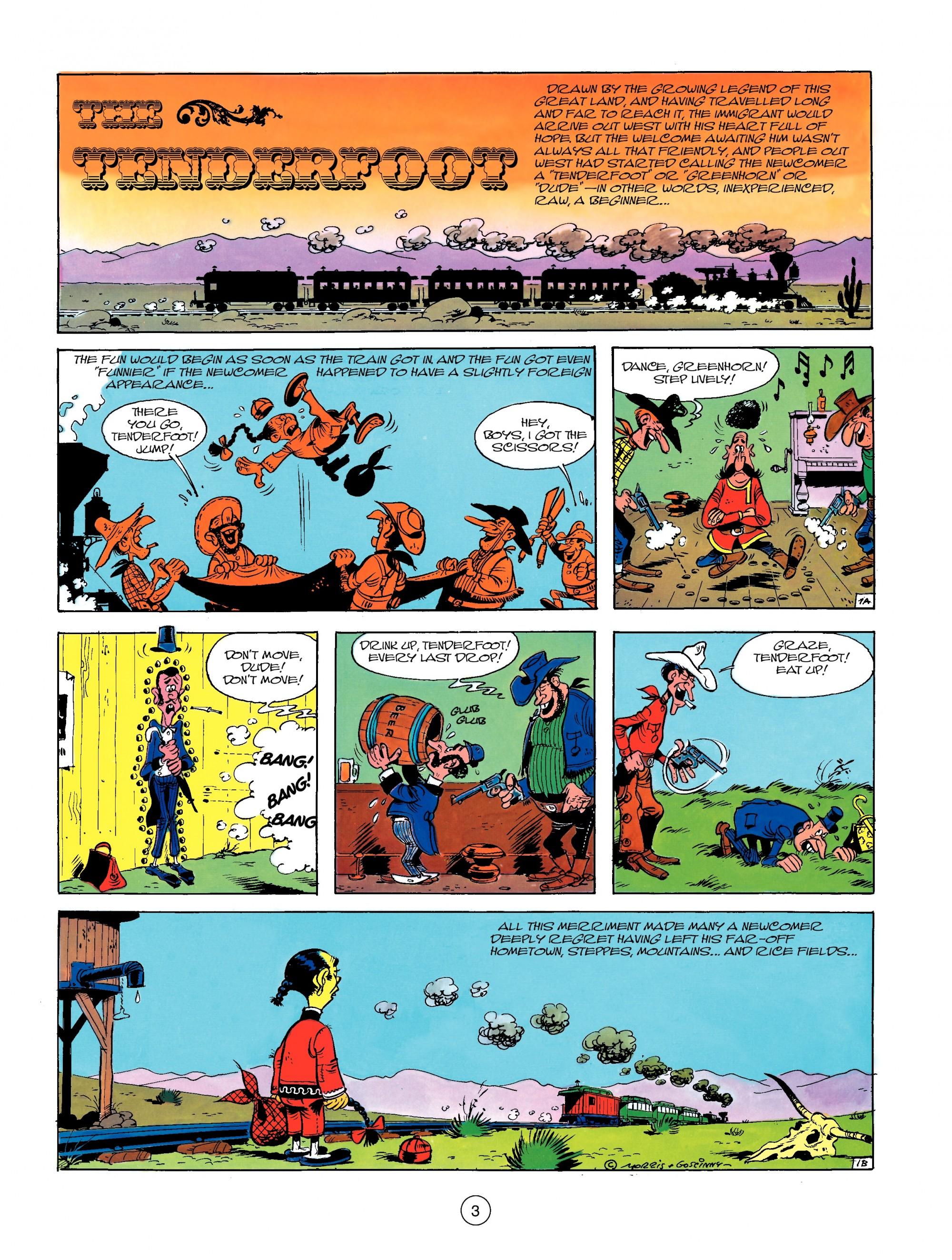 Read online A Lucky Luke Adventure comic -  Issue #13 - 3