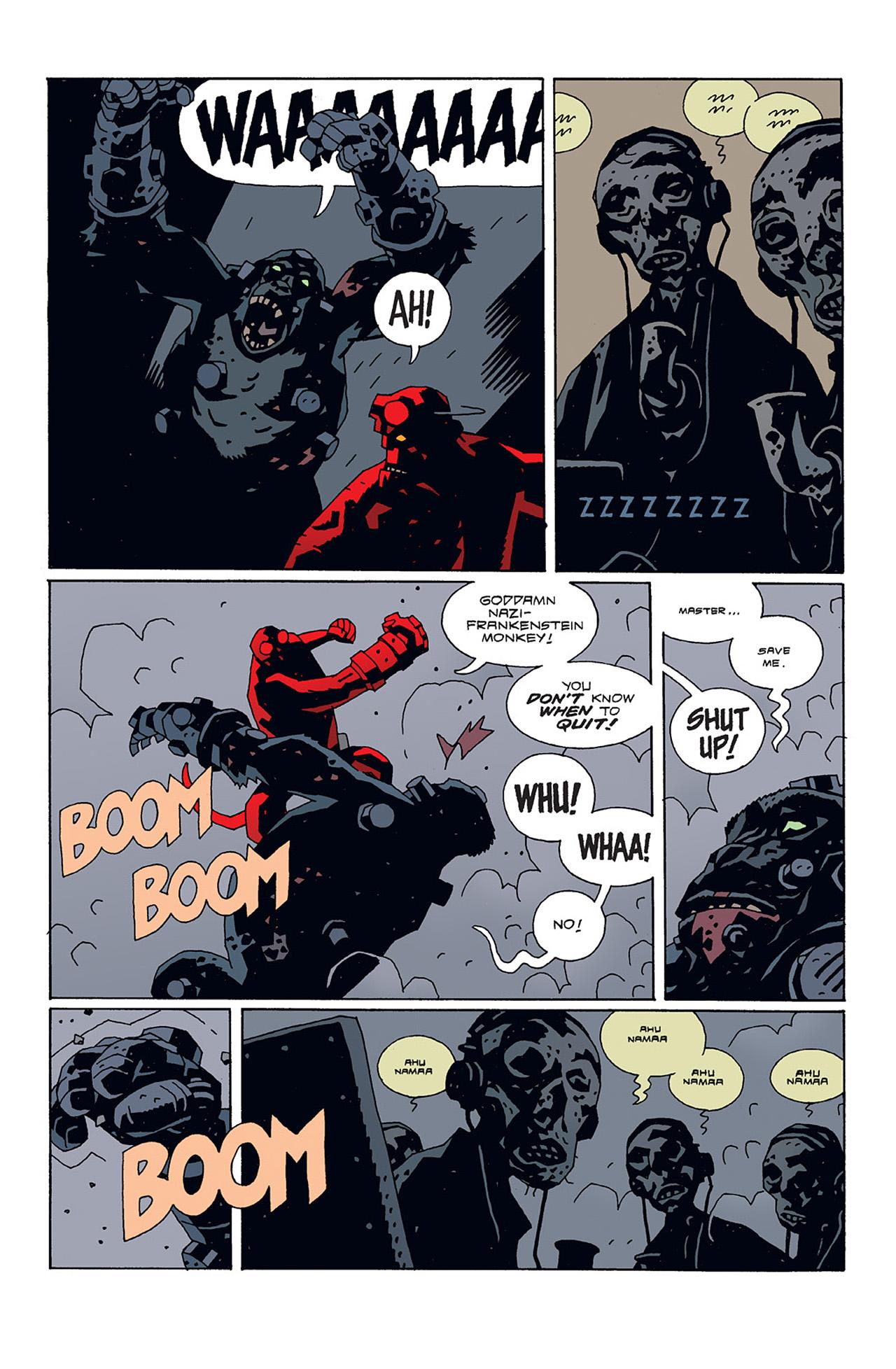 Read online Hellboy: Conqueror Worm comic -  Issue #3 - 21
