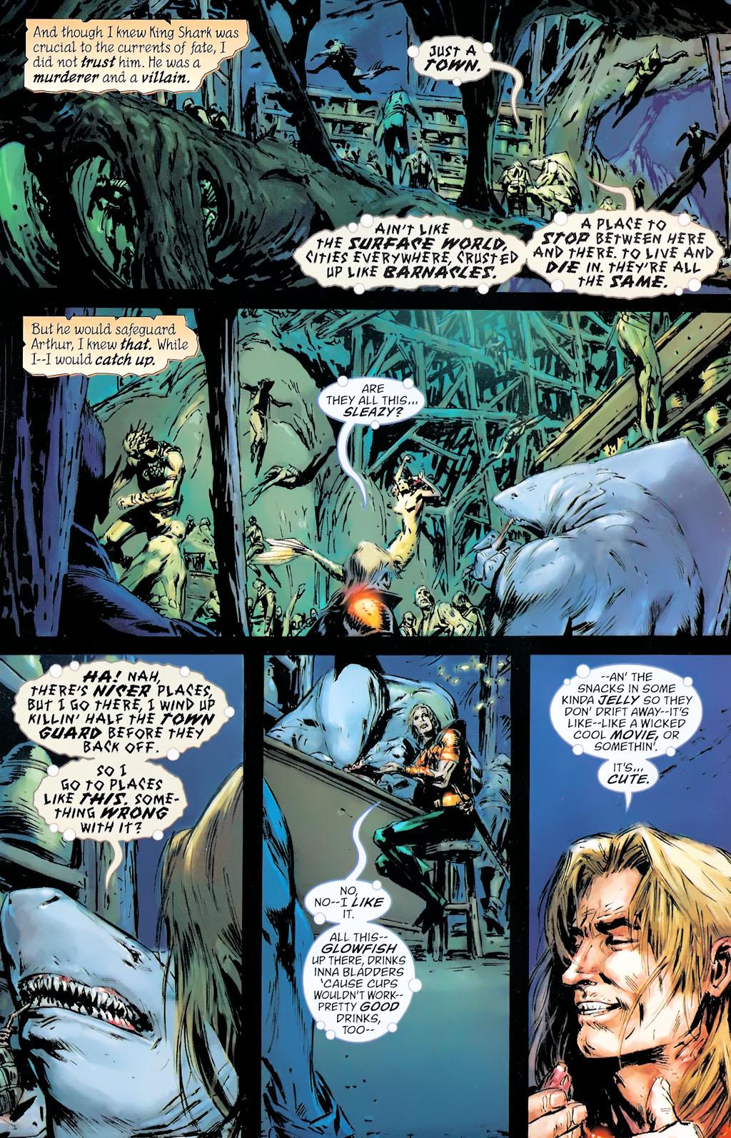 Read online Aquaman: Sword of Atlantis comic -  Issue #42 - 3