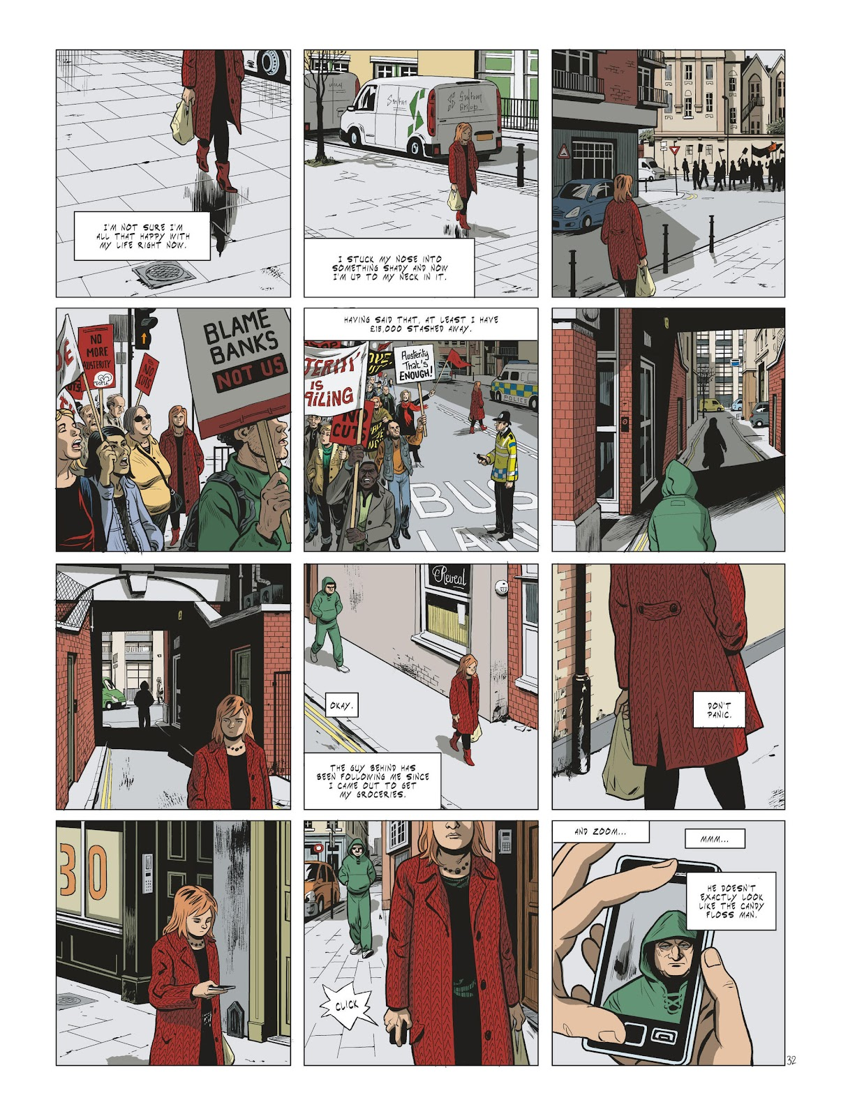 Read online Maggy Garrisson comic -  Issue #2 - 34