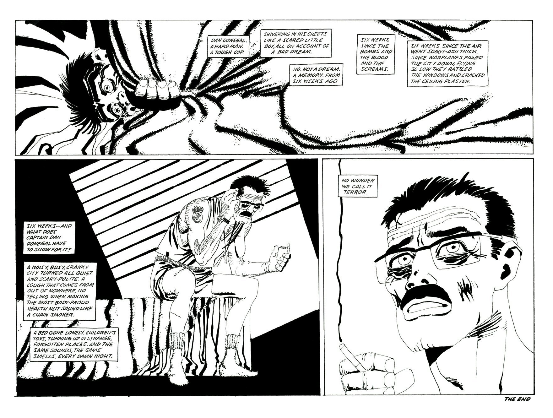 Read online Frank Miller's Holy Terror comic -  Issue # TPB - 117