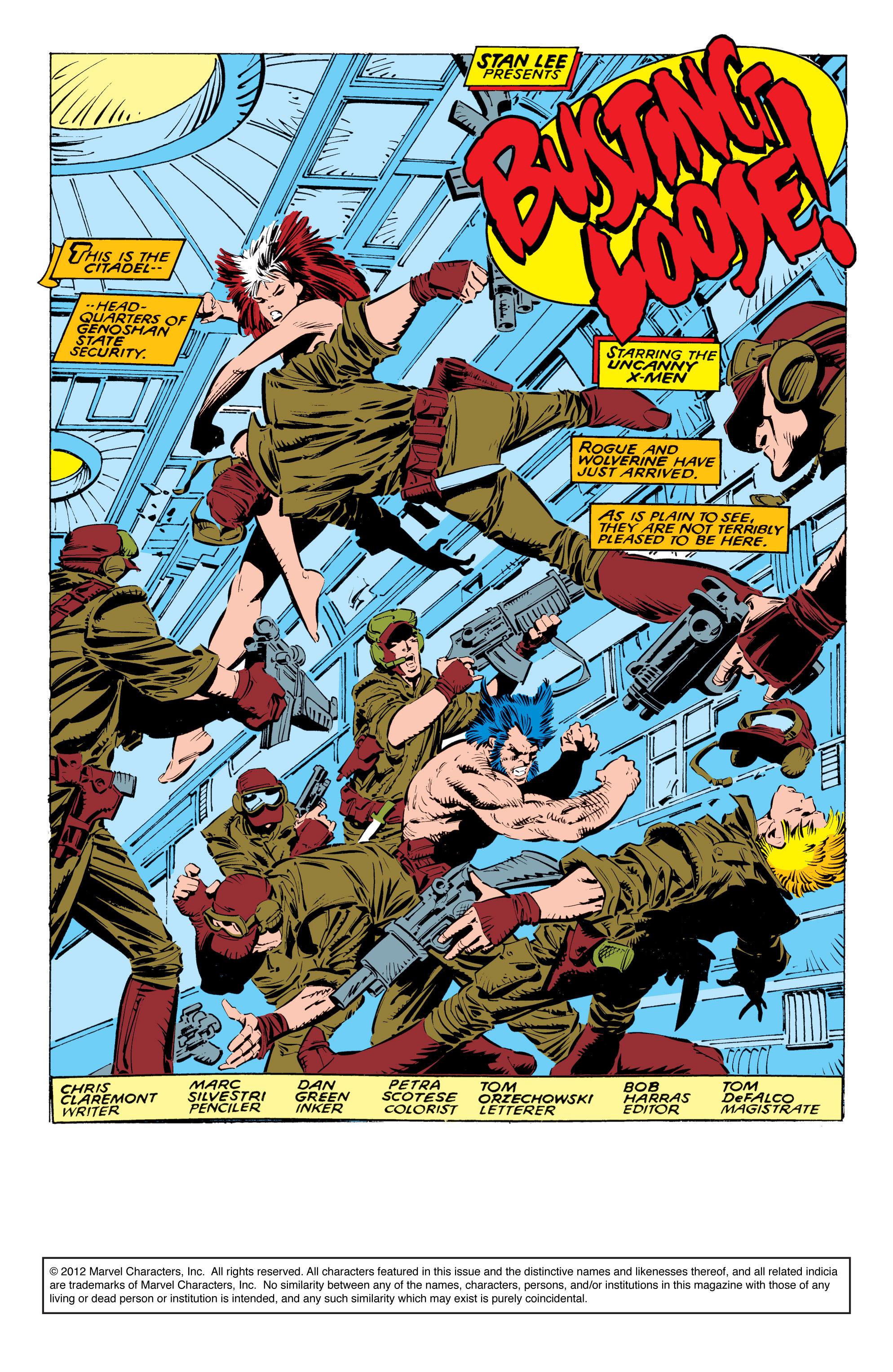 Read online Uncanny X-Men (1963) comic -  Issue #236 - 2