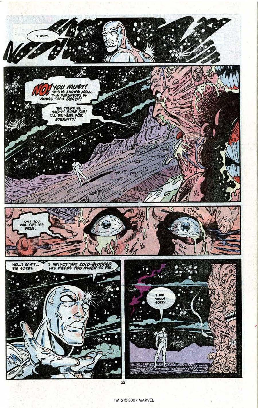 Read online Silver Surfer (1987) comic -  Issue # _Annual 3 - 35