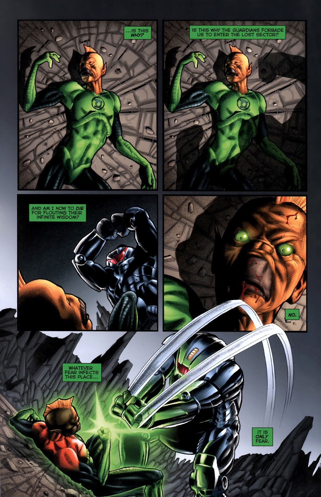 Read online Green Lantern Movie Prequel: Tomar-Re comic -  Issue # Full - 16