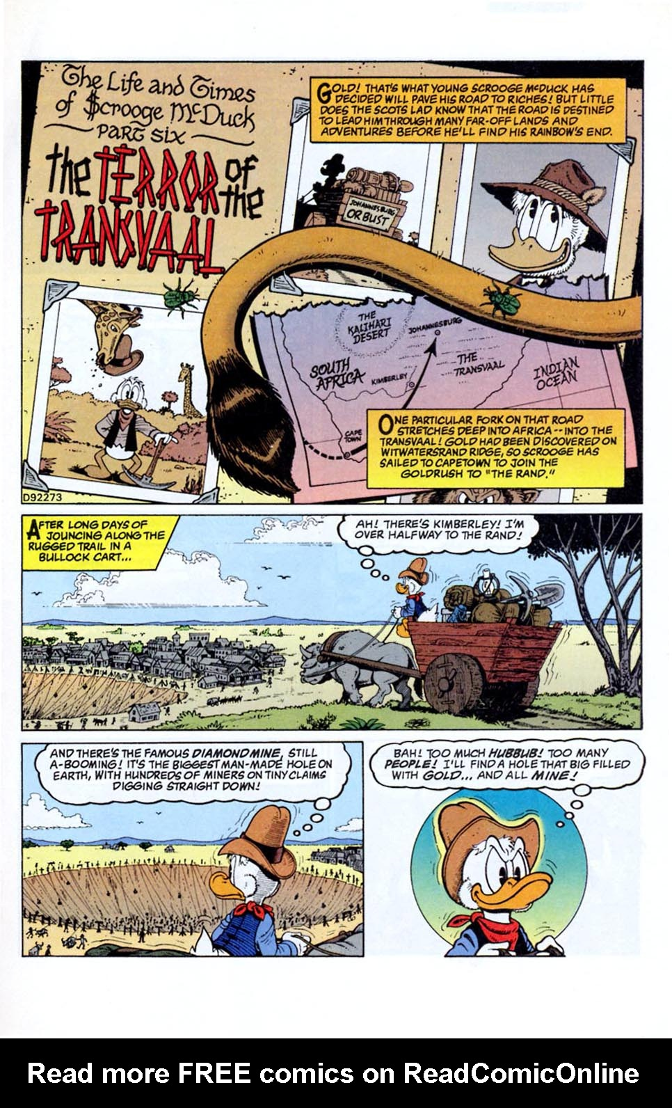 Read online Uncle Scrooge (1953) comic -  Issue #290 - 2