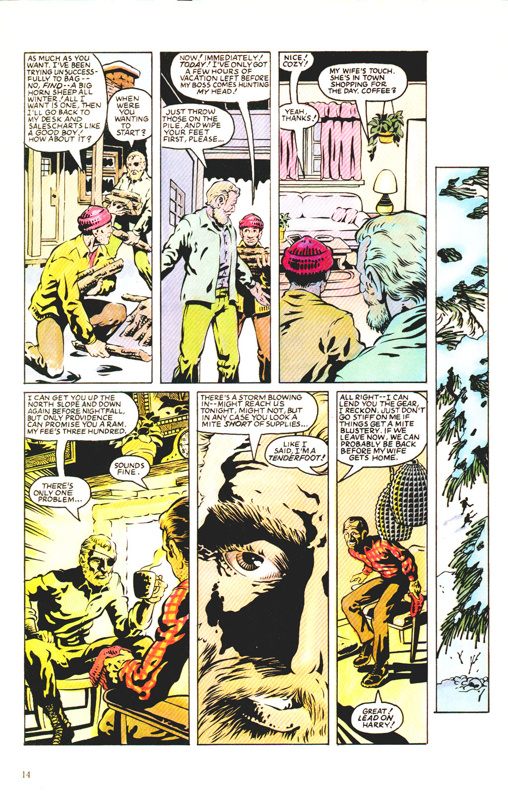 Read online Twisted Tales (1982) comic -  Issue #7 - 16
