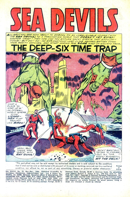 Read online Sea Devils comic -  Issue #32 - 4
