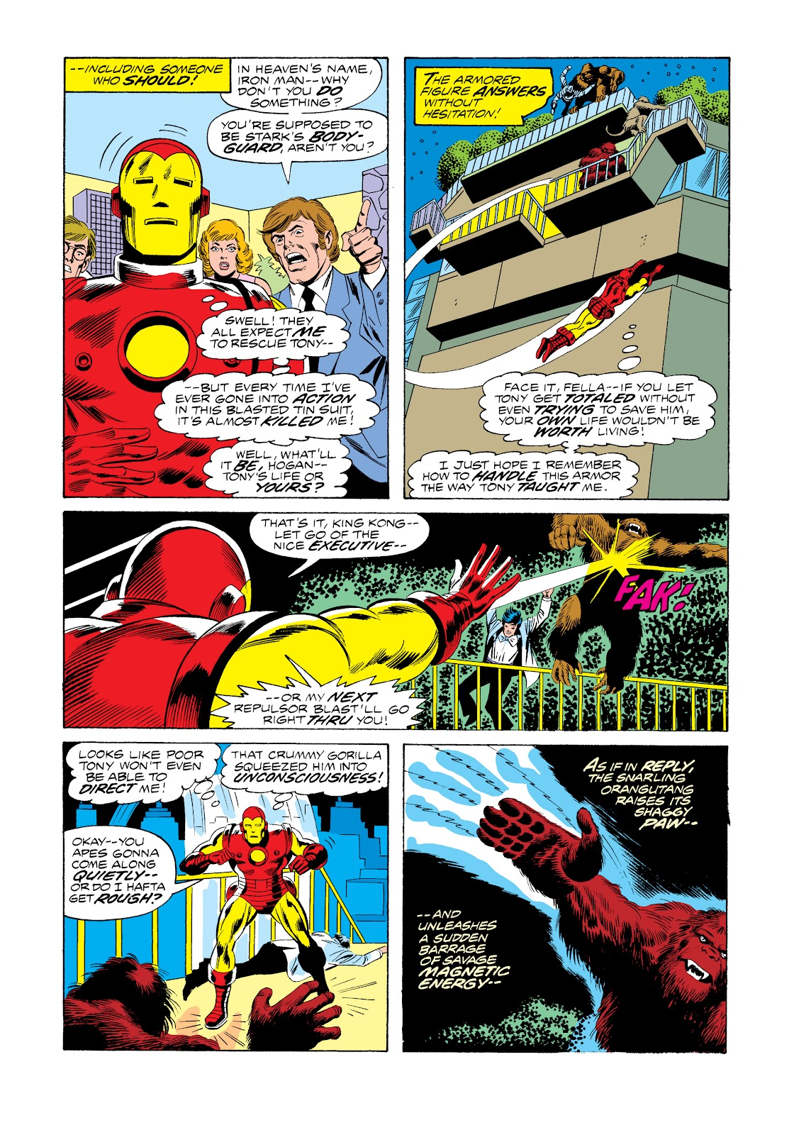 Read online Marvel Masterworks: The Invincible Iron Man comic -  Issue # TPB 11 (Part 1) - 21