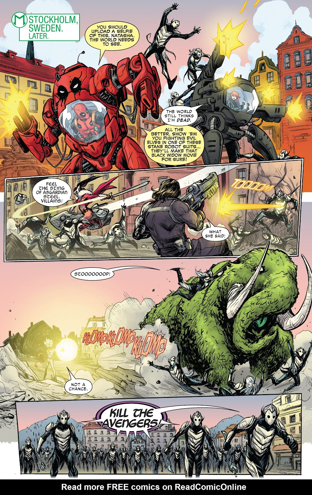 Read online War of the Realms Strikeforce: The War Avengers comic -  Issue # Full - 18