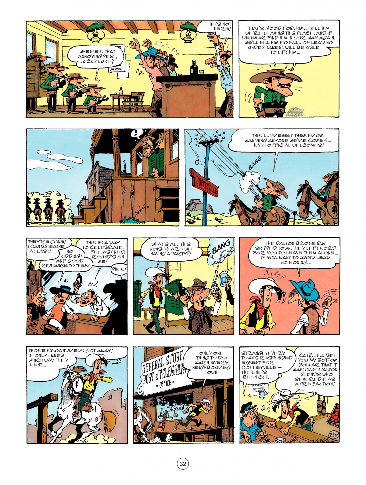 Read online A Lucky Luke Adventure comic -  Issue #47 - 32
