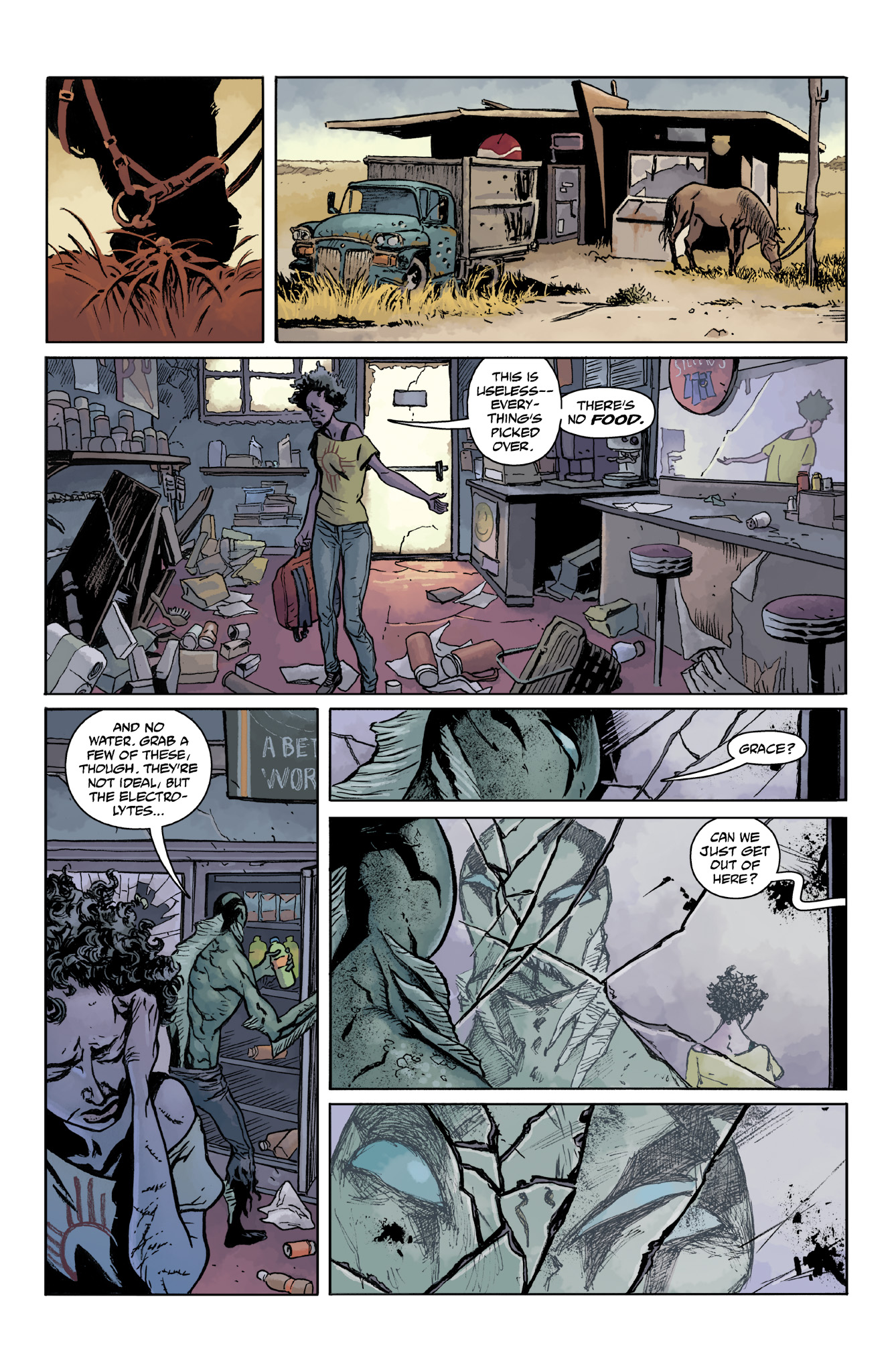 Read online Abe Sapien comic -  Issue #14 - 4