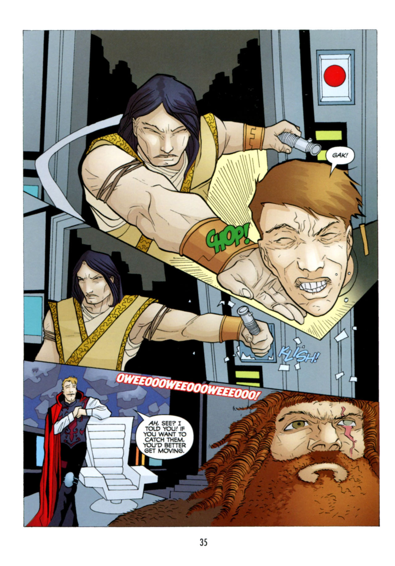 Read online Star Wars: The Clone Wars - Deadly Hands of Shon-Ju comic -  Issue # Full - 36