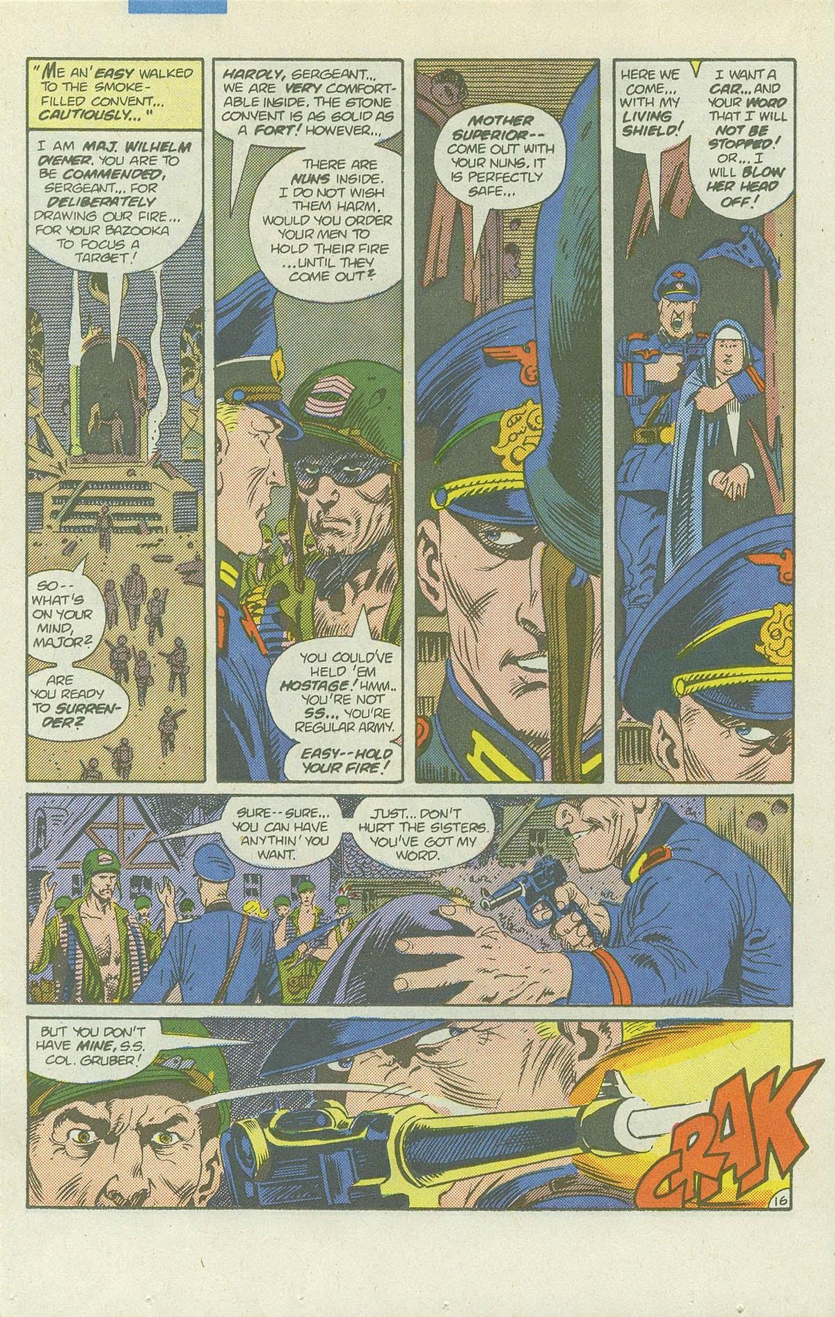 Read online Sgt. Rock comic -  Issue #422 - 21