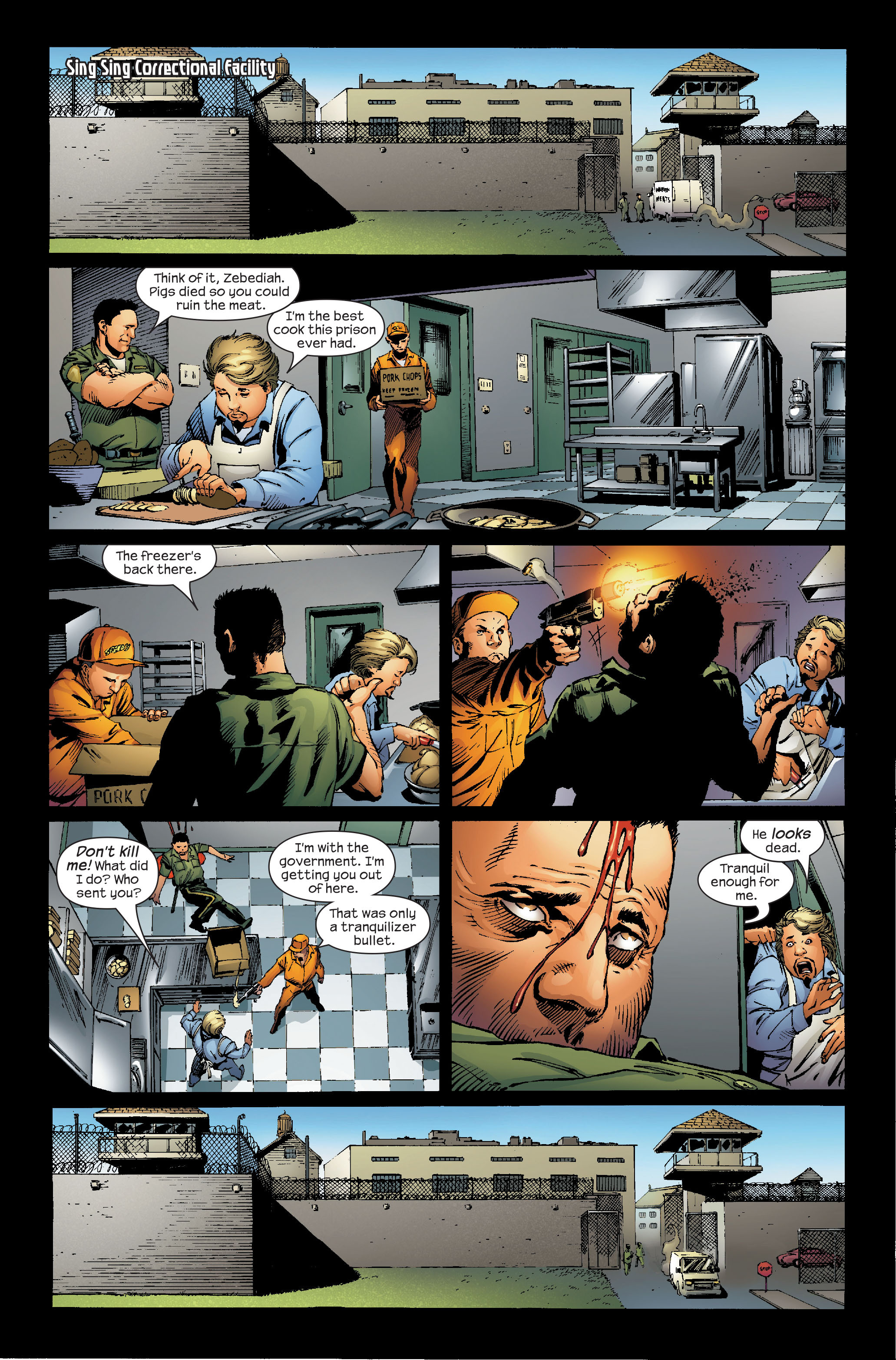 Read online Ultimate Iron Man (2005) comic -  Issue #5 - 8