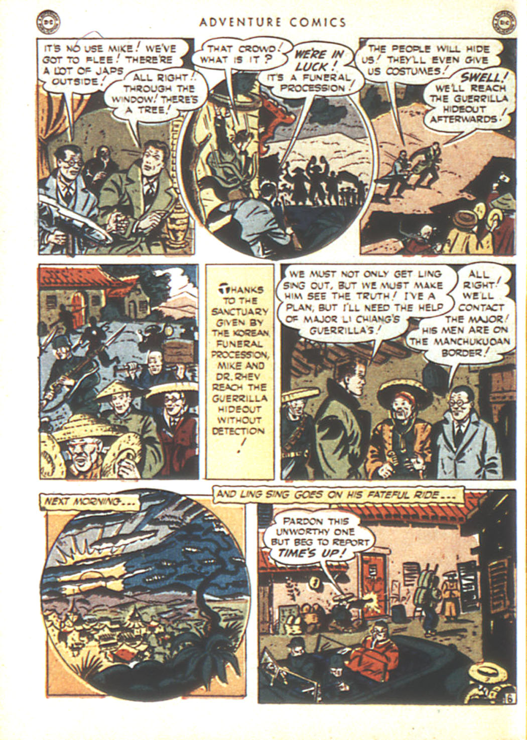 Read online Adventure Comics (1938) comic -  Issue #92 - 40