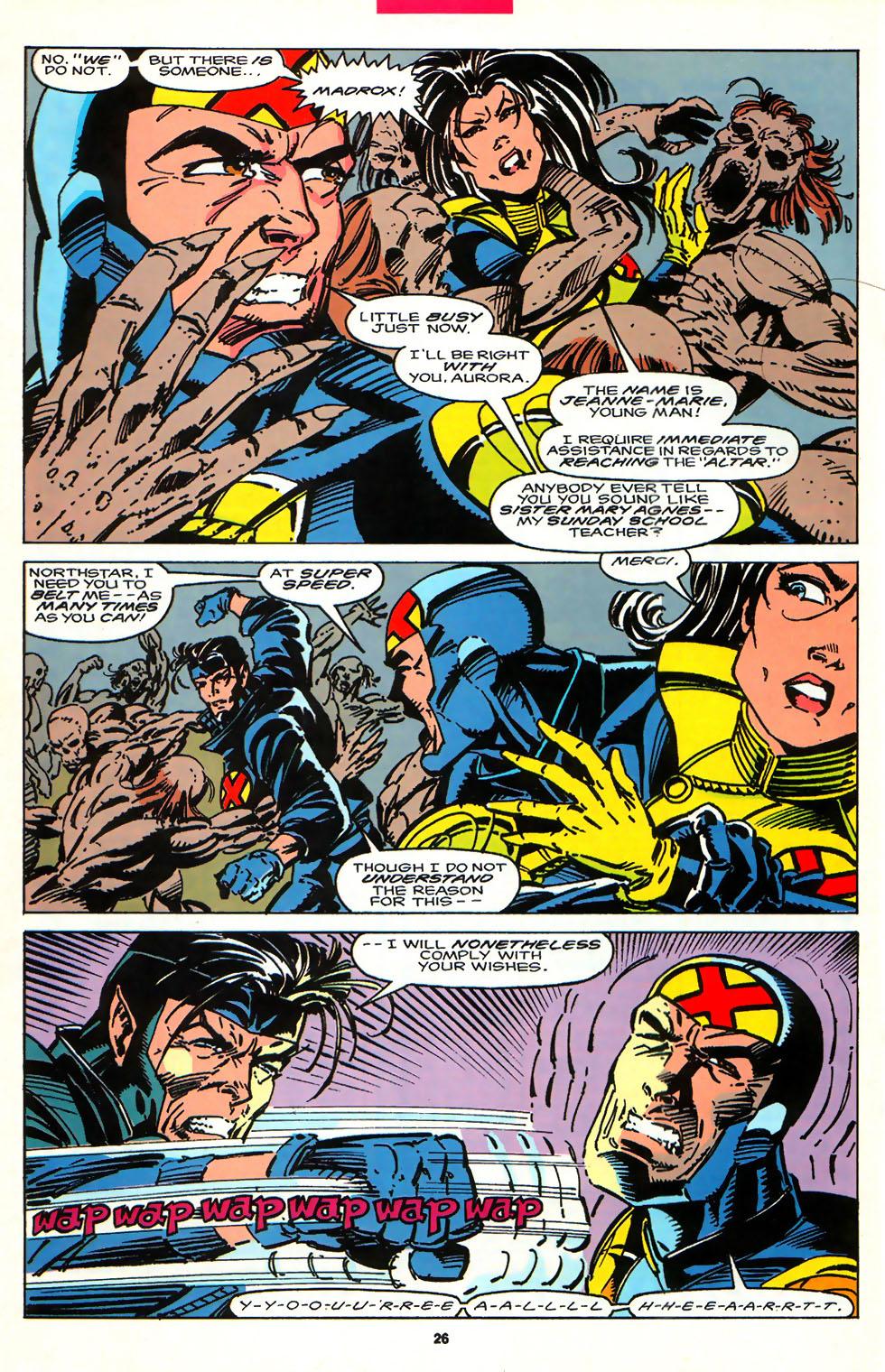 Read online Alpha Flight (1983) comic -  Issue #107 - 20